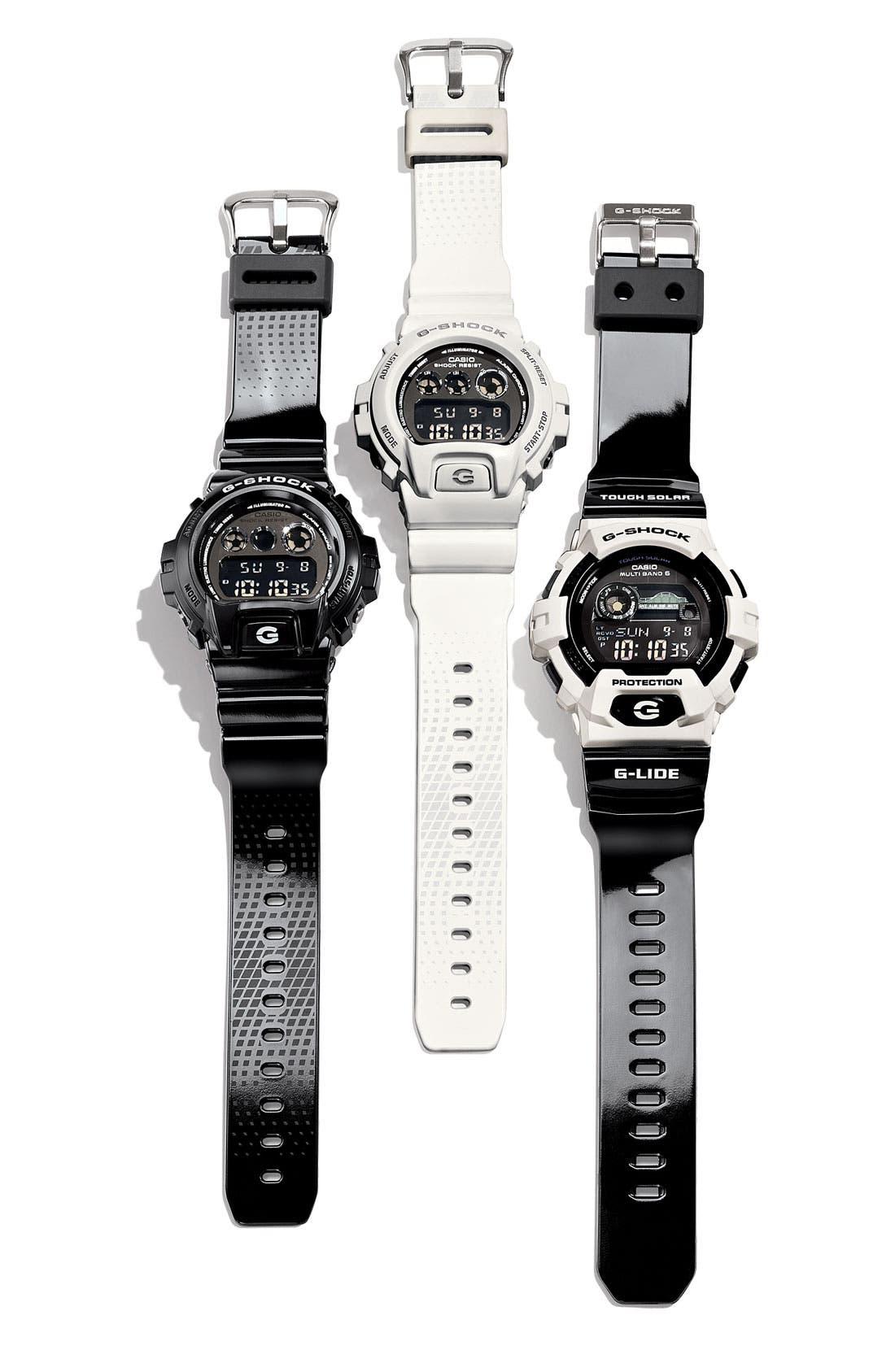 Alternate Image 2  - G-Shock 'Mirror Metallic' Digital Watch, 50mm x 45mm