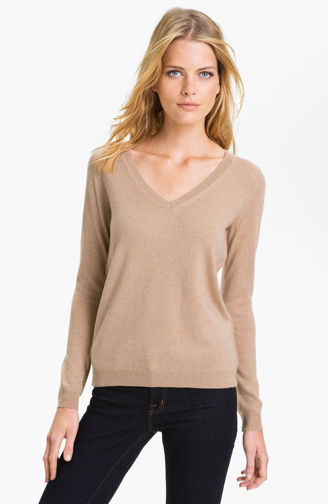 Alternate Image 1 Selected - Theory 'Brandis' Cashmere Sweater