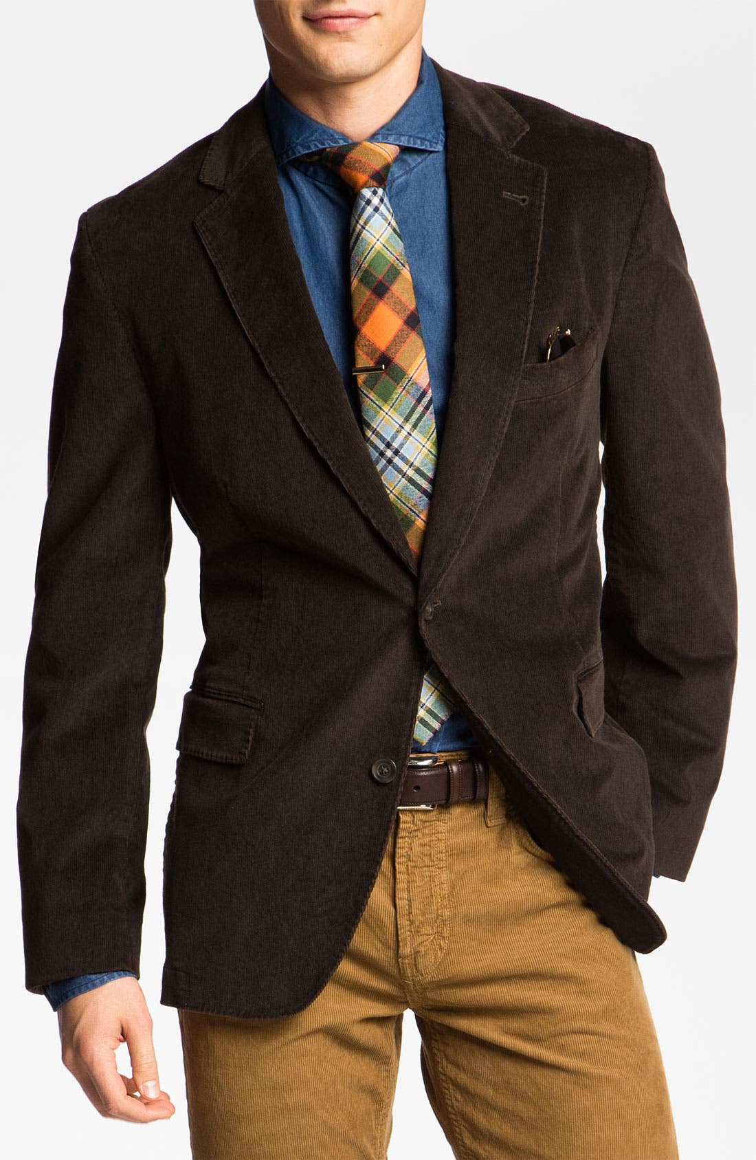 Main Image - Kroon 'Taylor' Corduroy Sportcoat