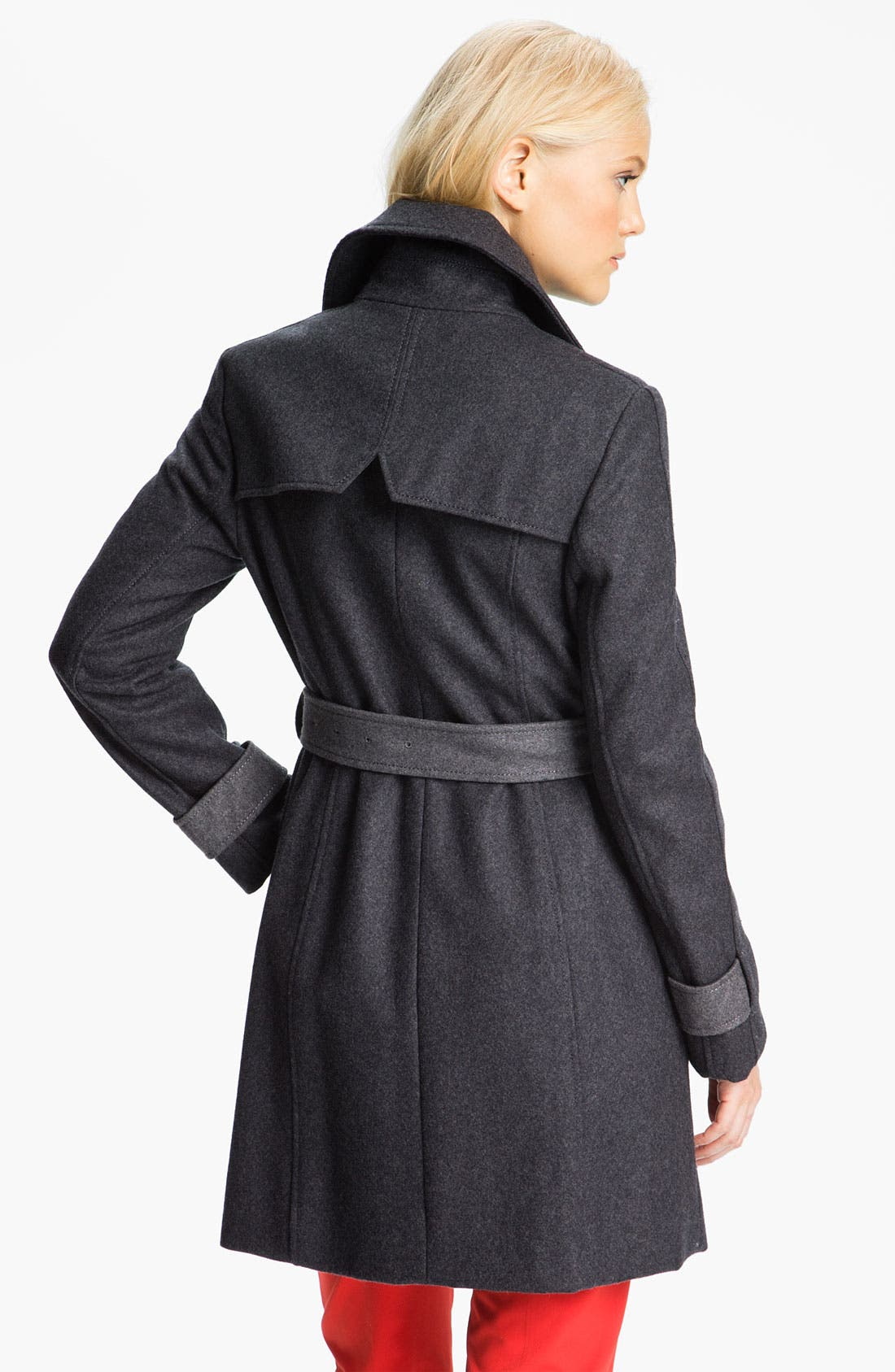 Alternate Image 2  - Kenneth Cole New York Colorblock Trench Coat