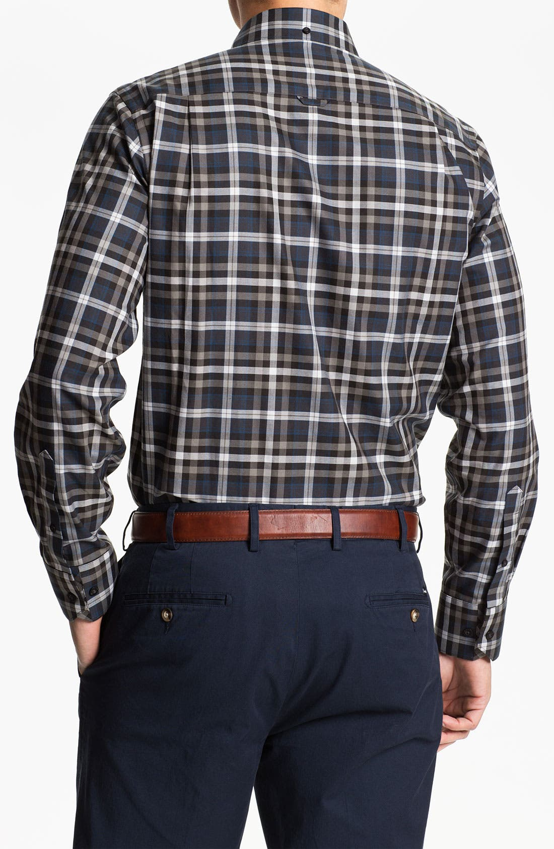 Alternate Image 2  - Nordstrom Regular Fit Twill Sport Shirt