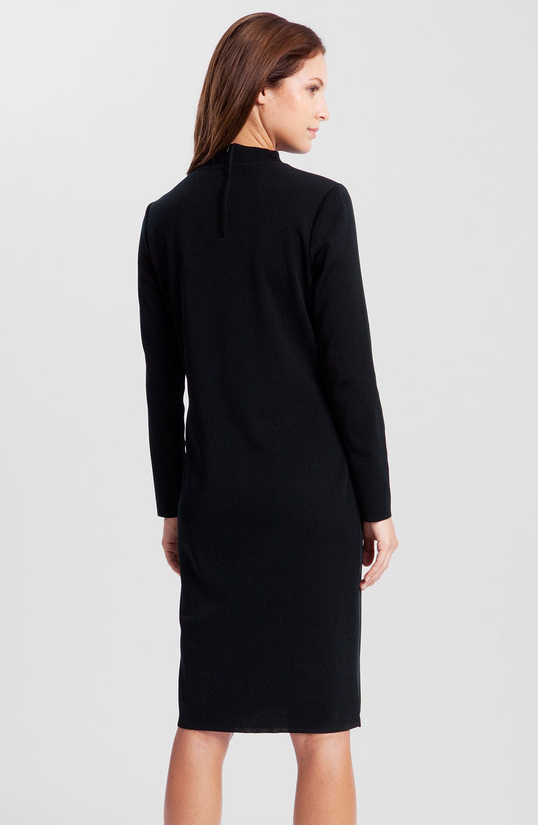 Alternate Image 2  - Ming Wang Mock Neck Dress