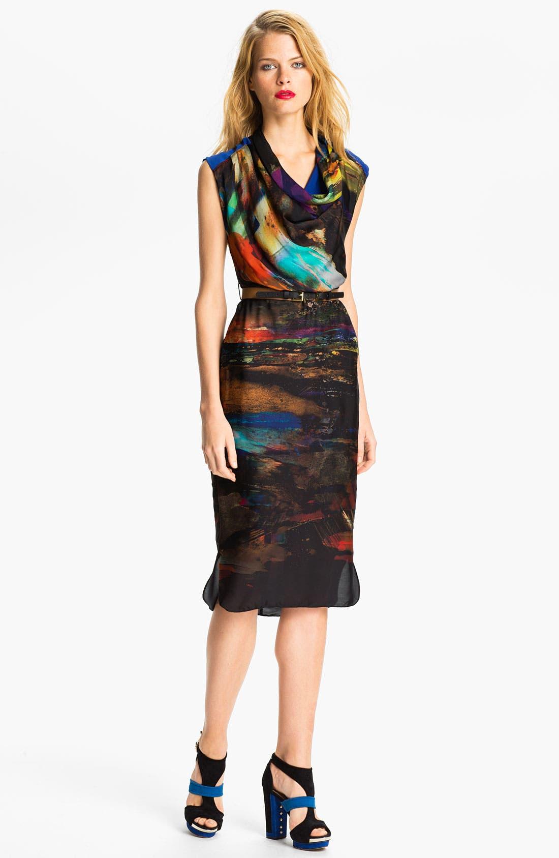 Alternate Image 1 Selected - Ted Baker London Midi Sheath Dress