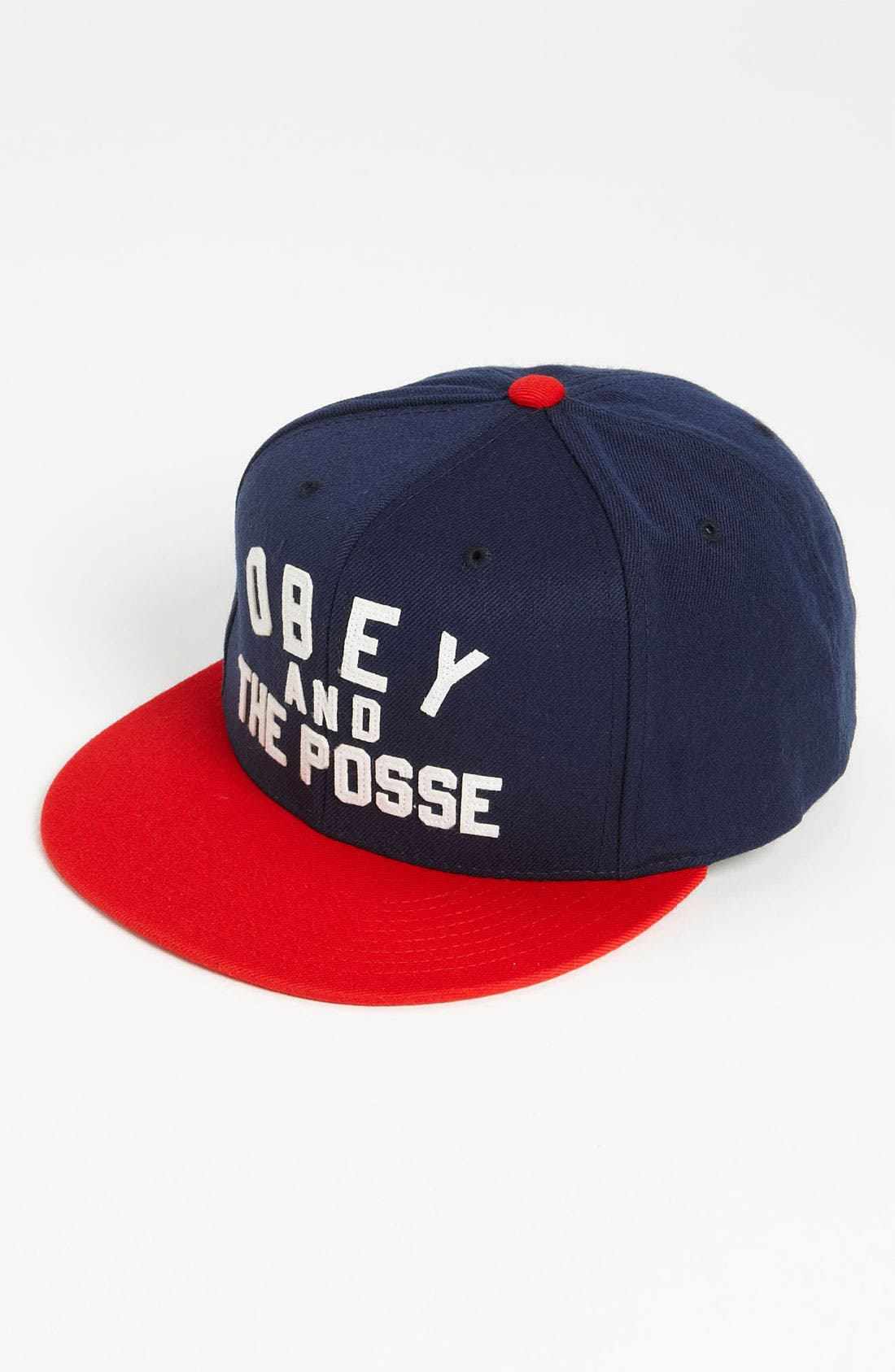 Alternate Image 1 Selected - Obey 'Obey And The Posse' Snapback Baseball Cap