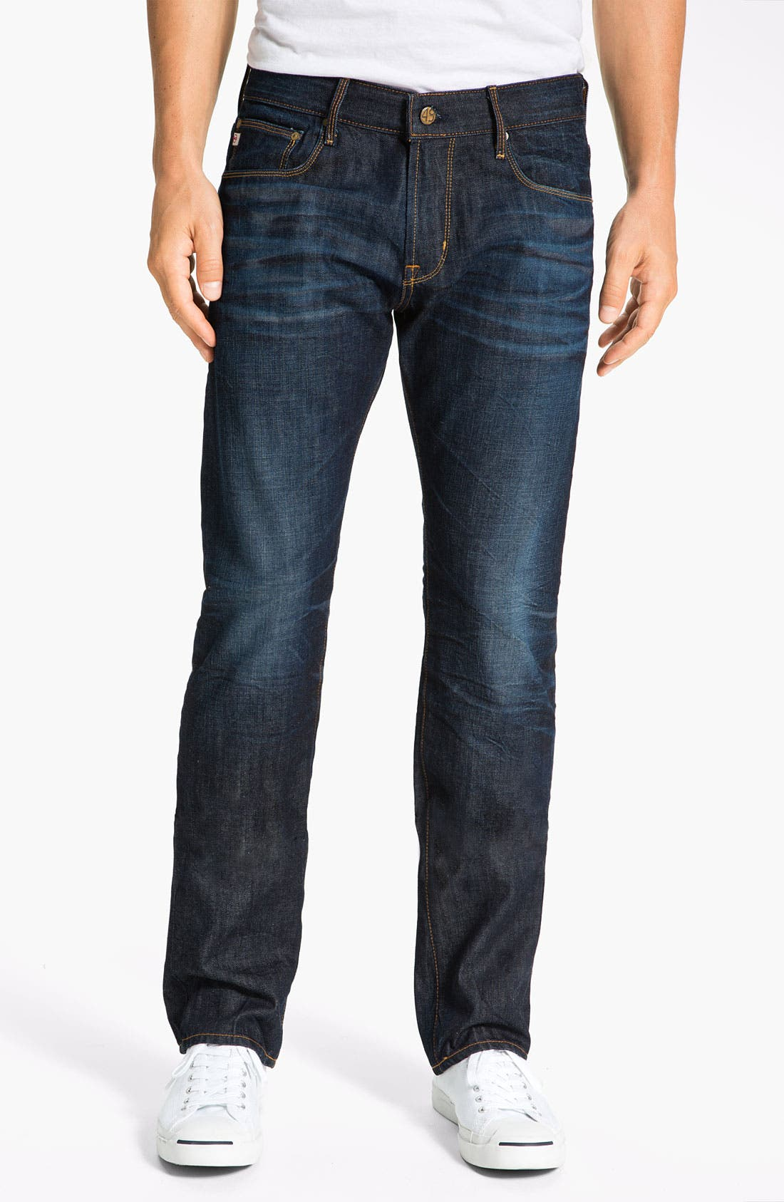 Alternate Image 1 Selected - AG Jeans 'Geffen Easy Slim' Straight Leg Jeans (3 Year Resin)