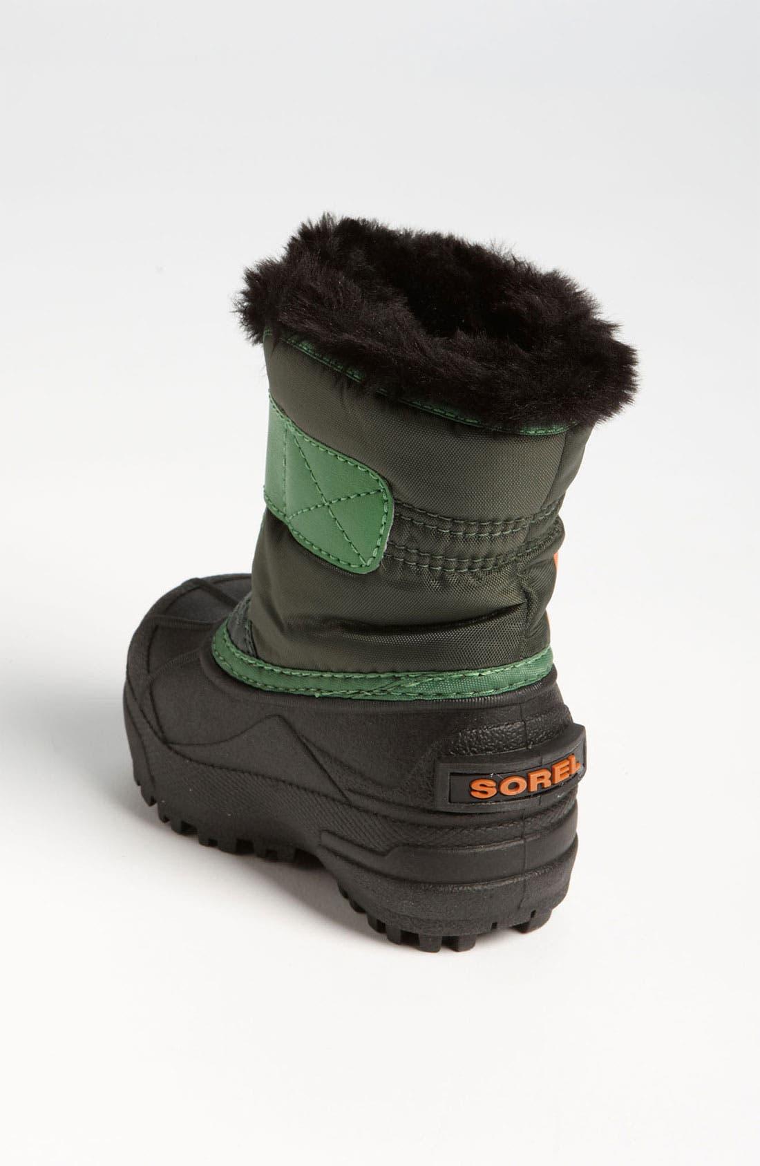 Alternate Image 2  - SOREL 'Snow Commander' Boot (Baby & Walker)