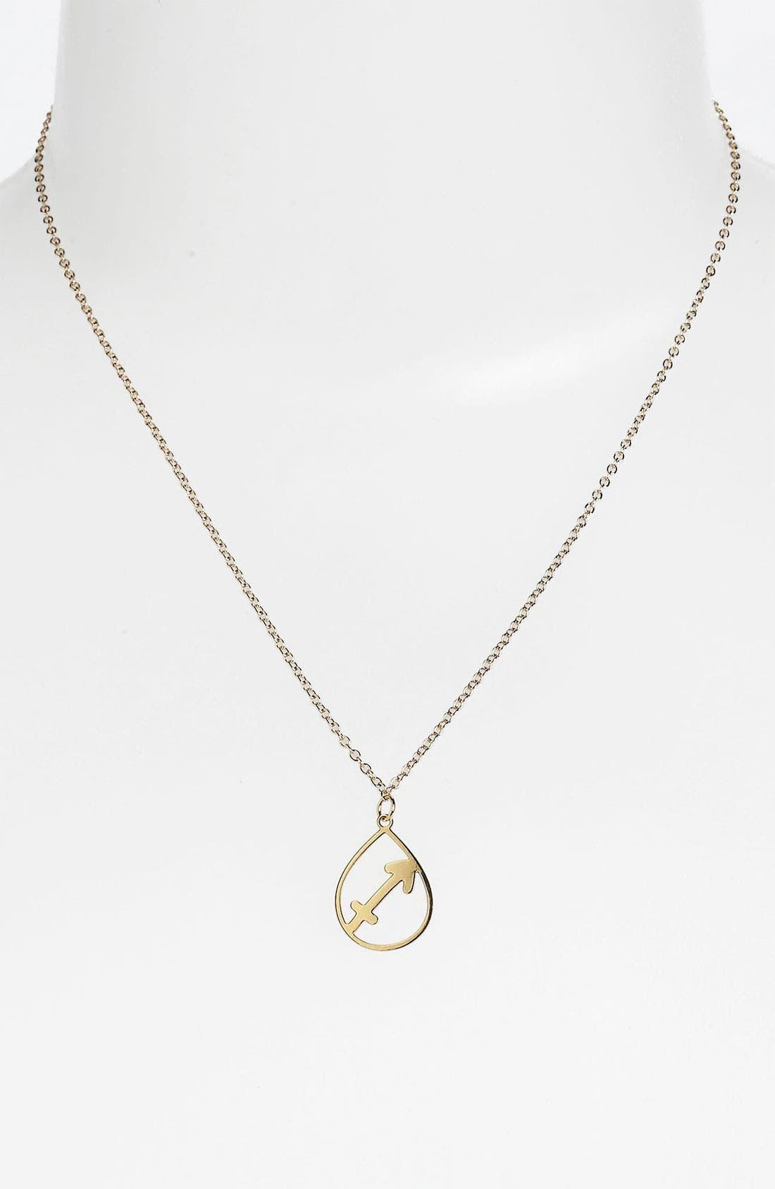 Alternate Image 1 Selected - Kris Nations 'Sagittarius' Necklace