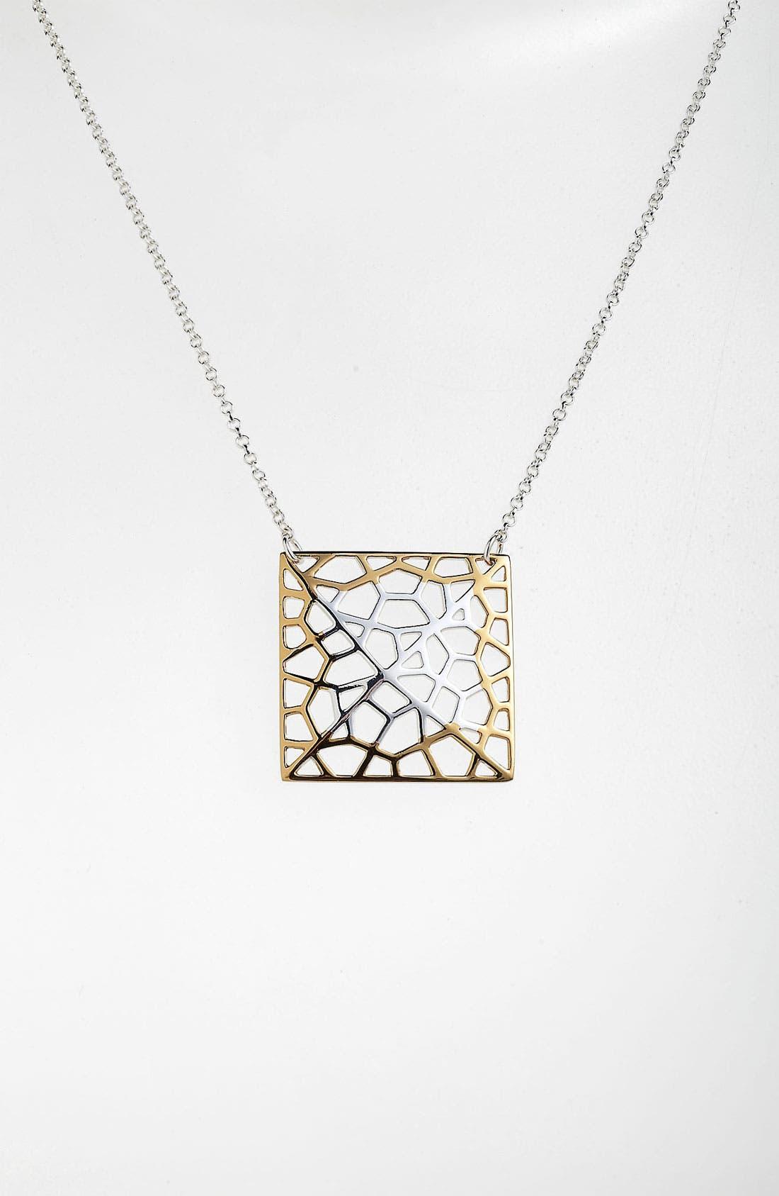 Alternate Image 1 Selected - Argento Vivo 'Prism' Medium Pendant Necklace