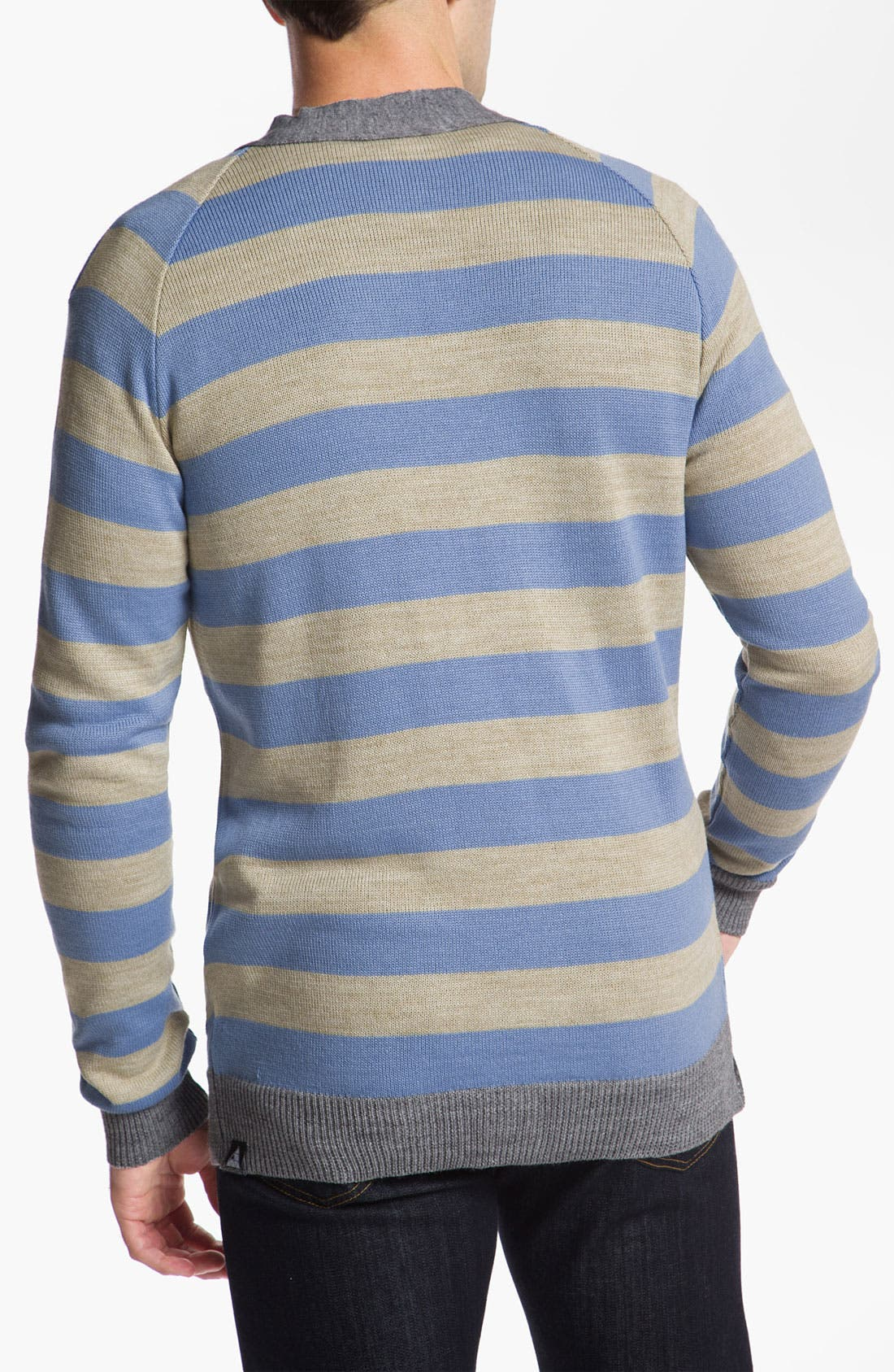 Alternate Image 2  - Vanguard 'Norbert' Stripe Cardigan