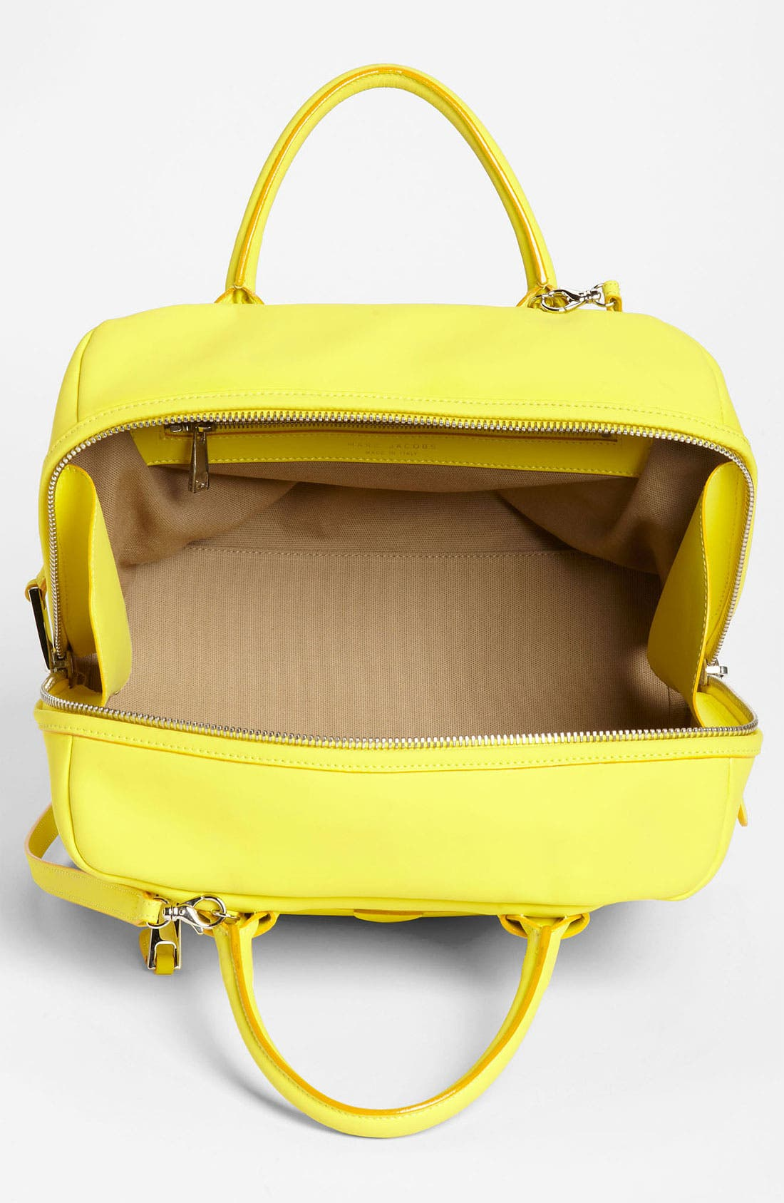 Alternate Image 3  - MARC JACOBS 'Small Antonia' Rubberized Leather Satchel