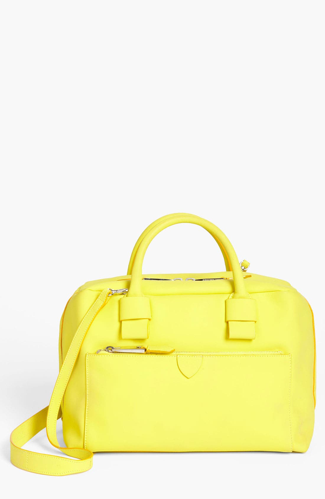 Main Image - MARC JACOBS 'Small Antonia' Rubberized Leather Satchel