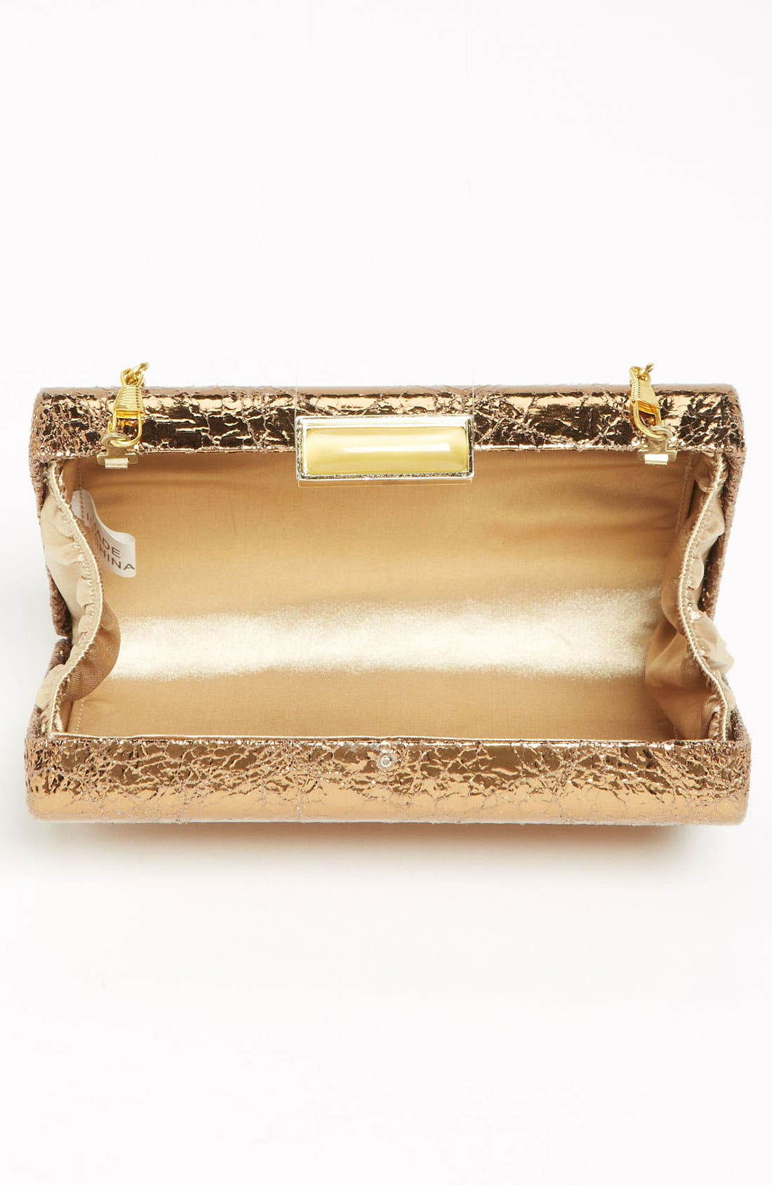 Alternate Image 3  - Expressions NYC 'Metallic Wave' Box Clutch