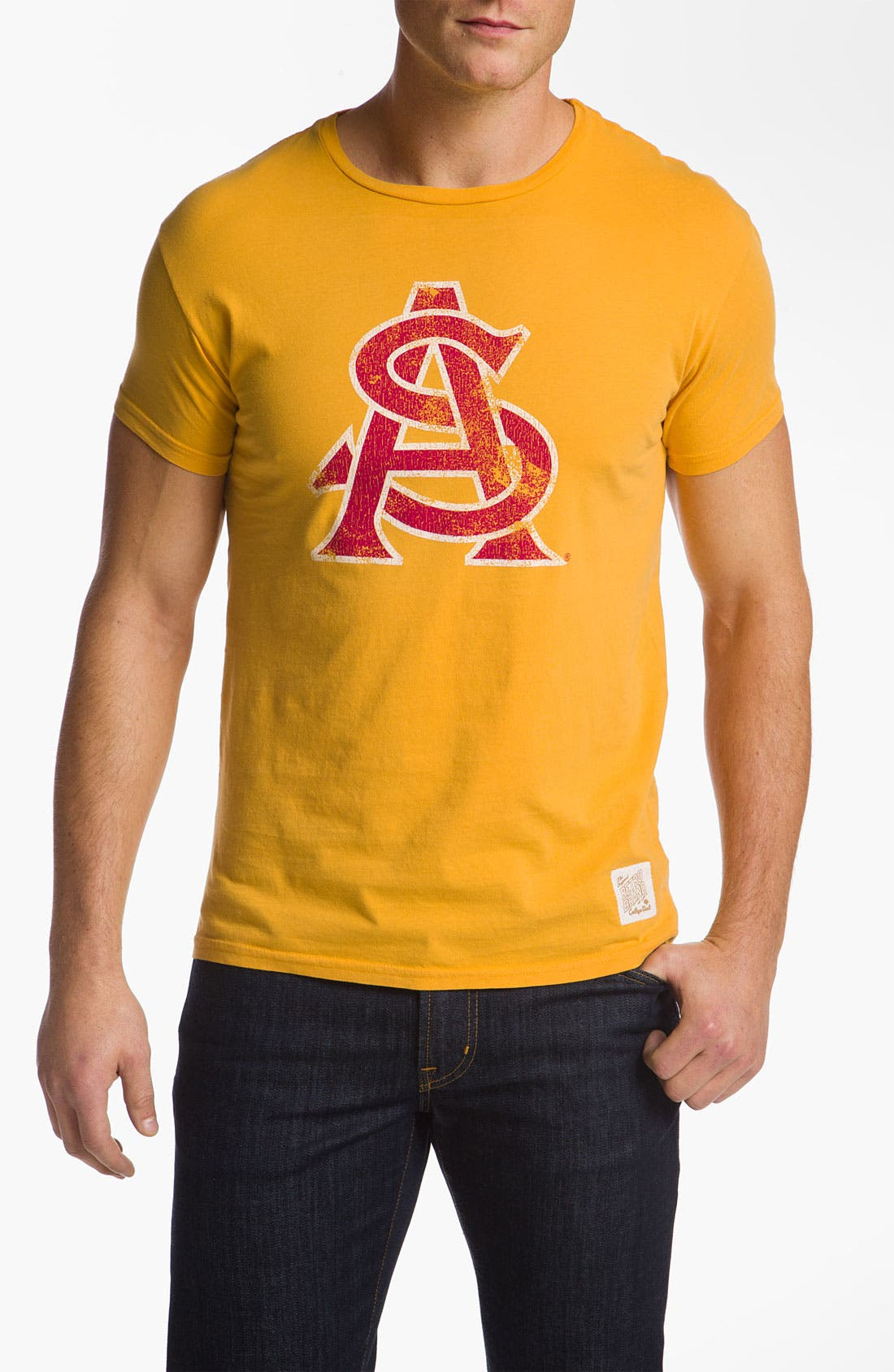 Alternate Image 1 Selected - Retro Brand 'Arizona State Sun Devils' T-Shirt