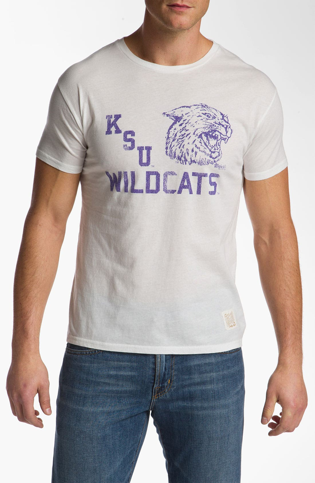 Main Image - The Original Retro Brand 'Kansas State Wildcats' T-Shirt