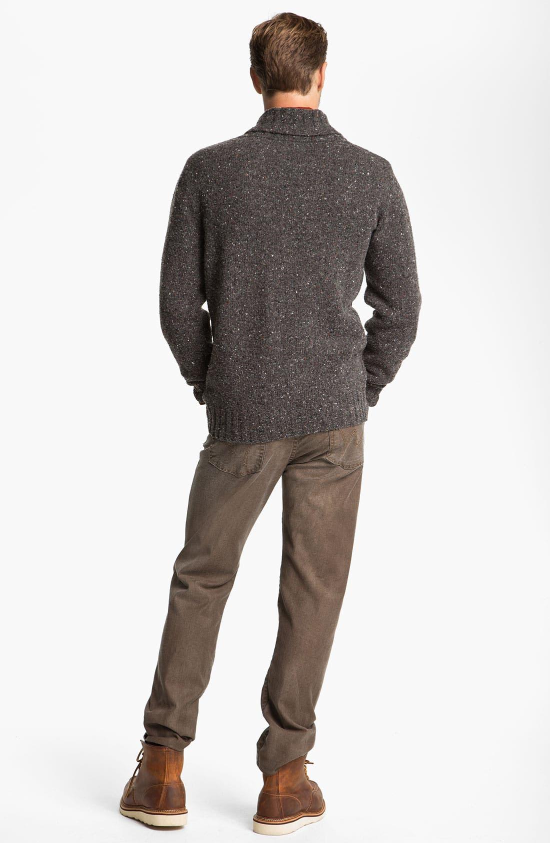Alternate Image 6  - Fiesole Shawl Collar Wool Blend Cardigan