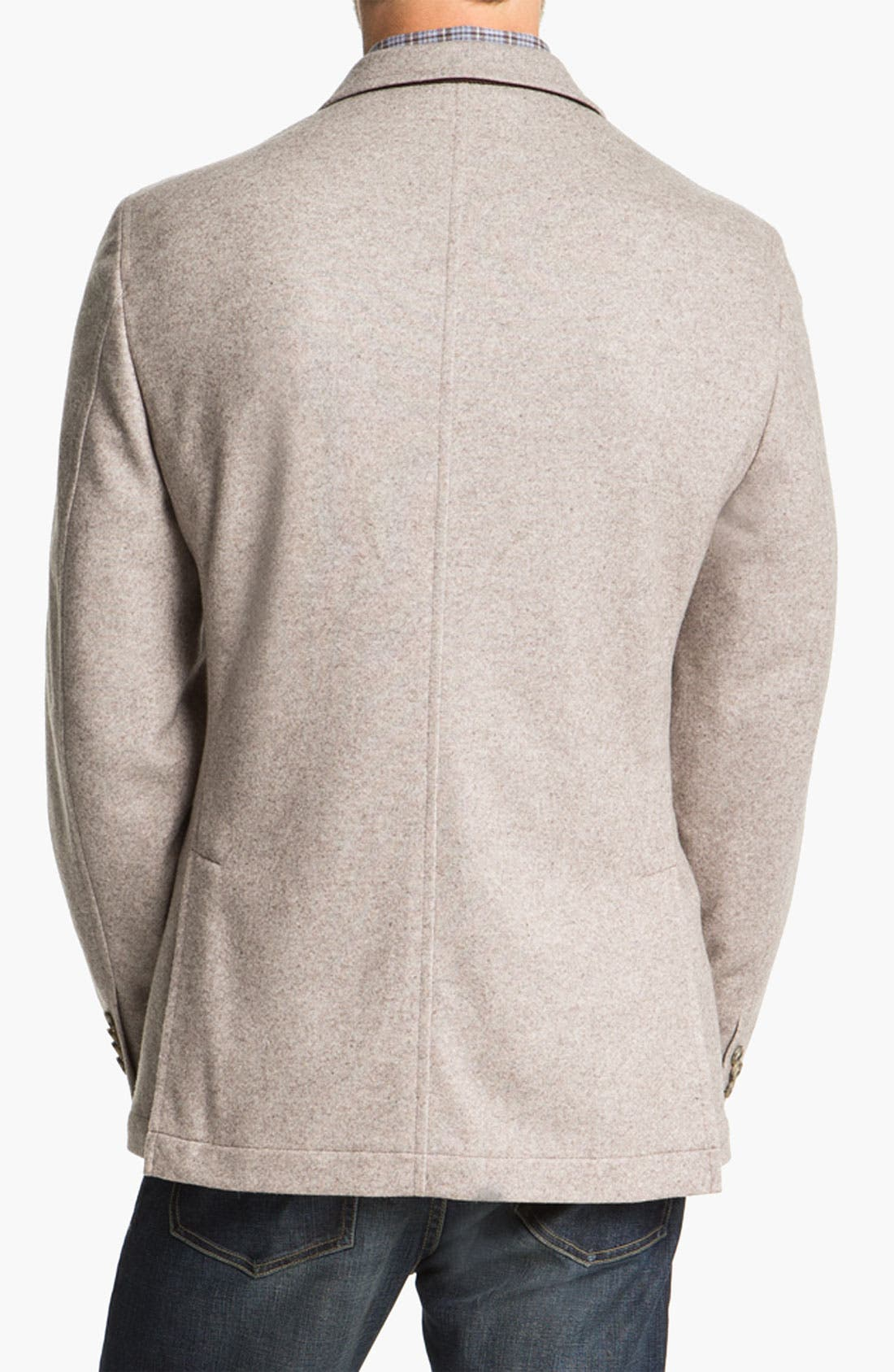 Alternate Image 2  - Kroon 'Mayer' Wool & Cashmere Blend Knit Sportcoat