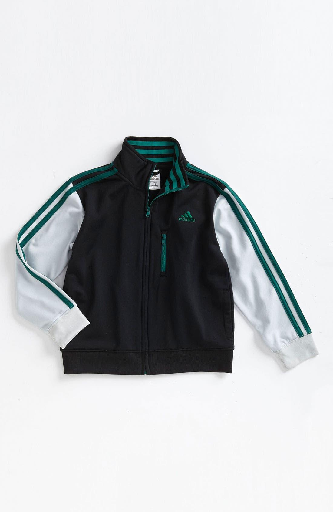 Alternate Image 1 Selected - adidas 'Varsity' Jacket (Little Boys)