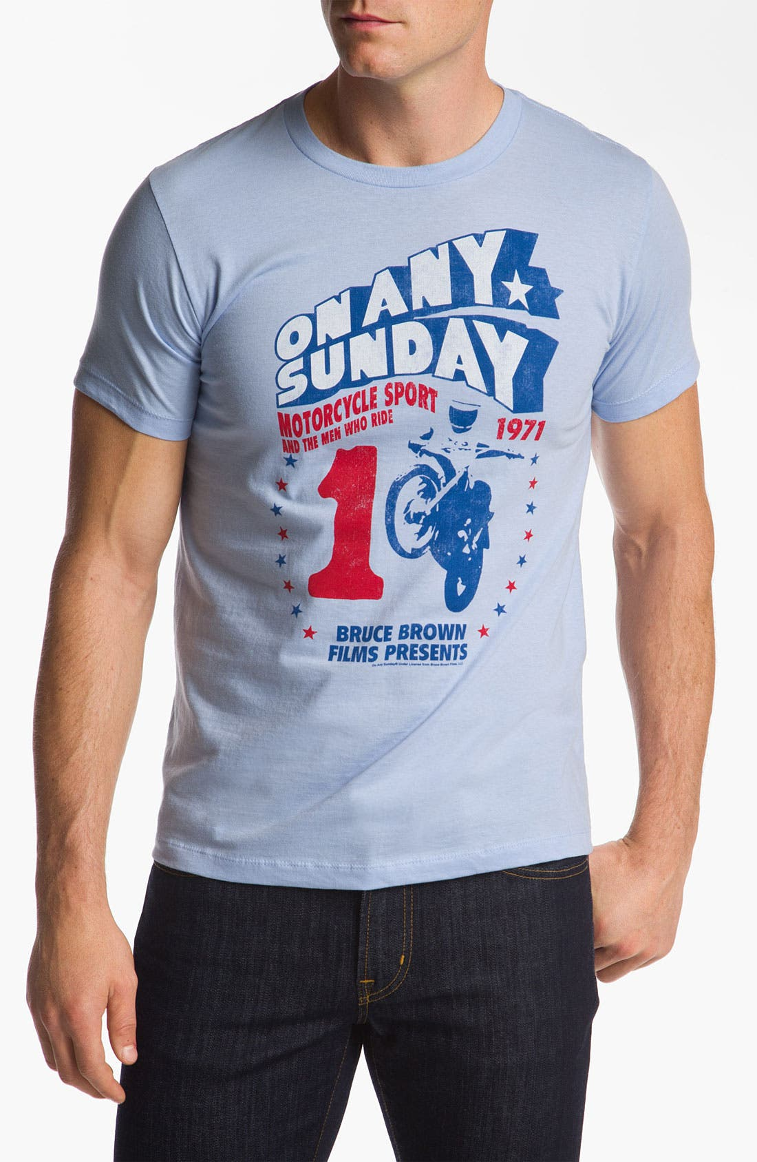 Alternate Image 1 Selected - Topless 'On Any Sunday' T-Shirt