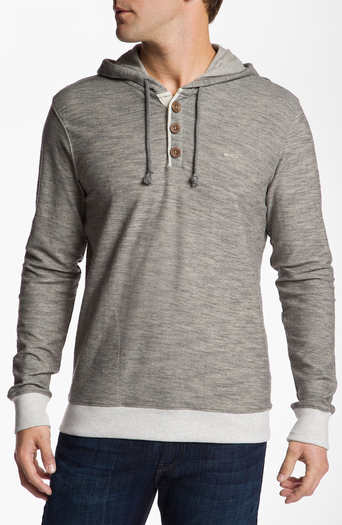 Alternate Image 1 Selected - RVCA Pullover Hoodie