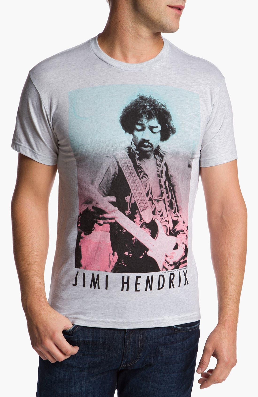 Main Image - Free Authority 'Jimi Hendrix' Graphic T-Shirt