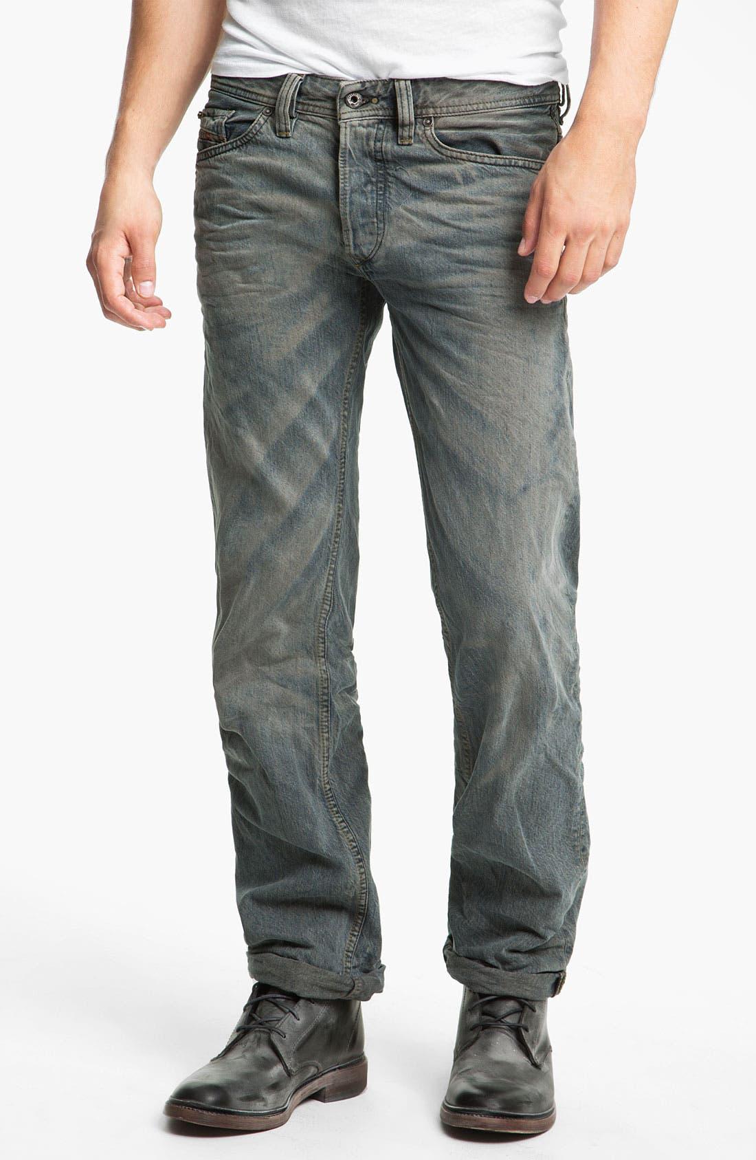 Alternate Image 2  - DIESEL® 'Viker' Straight Leg Jeans (0807C)