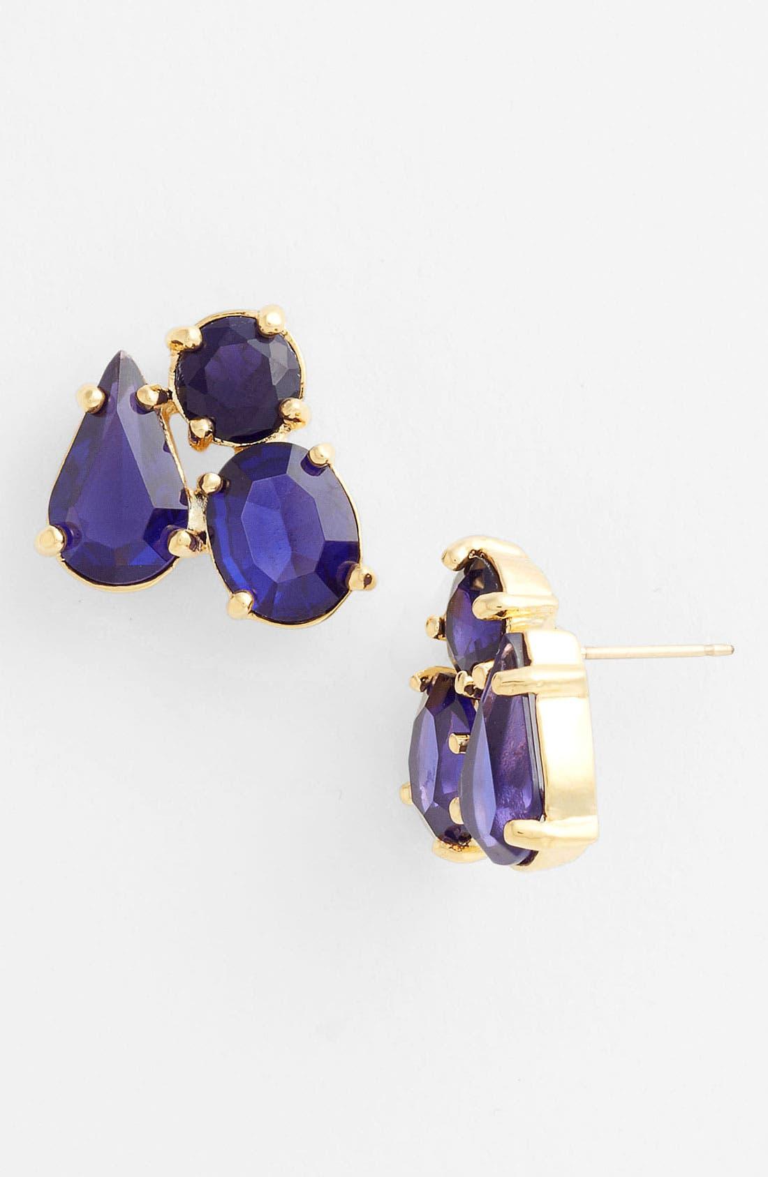 Main Image - kate spade new york 'fragment' cluster stud earrings