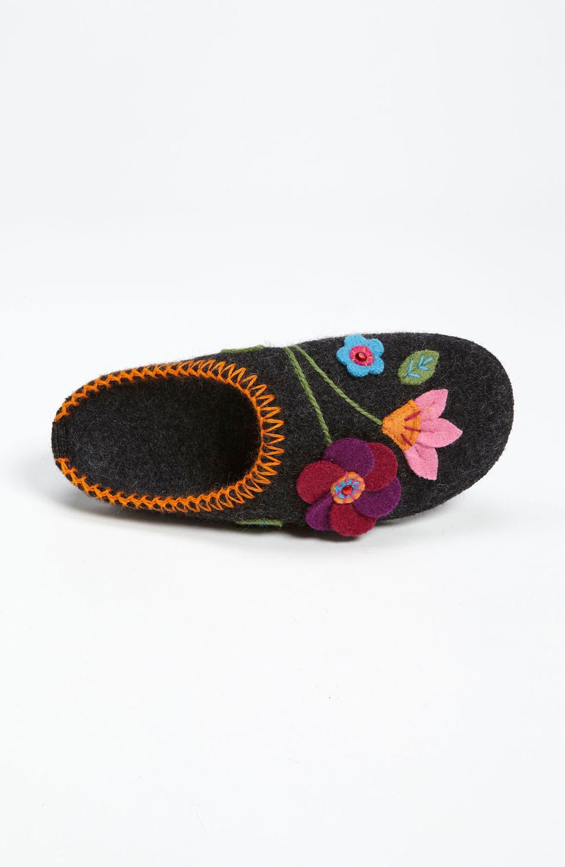 Alternate Image 3  - Giesswein 'Vienna Flower' Slipper