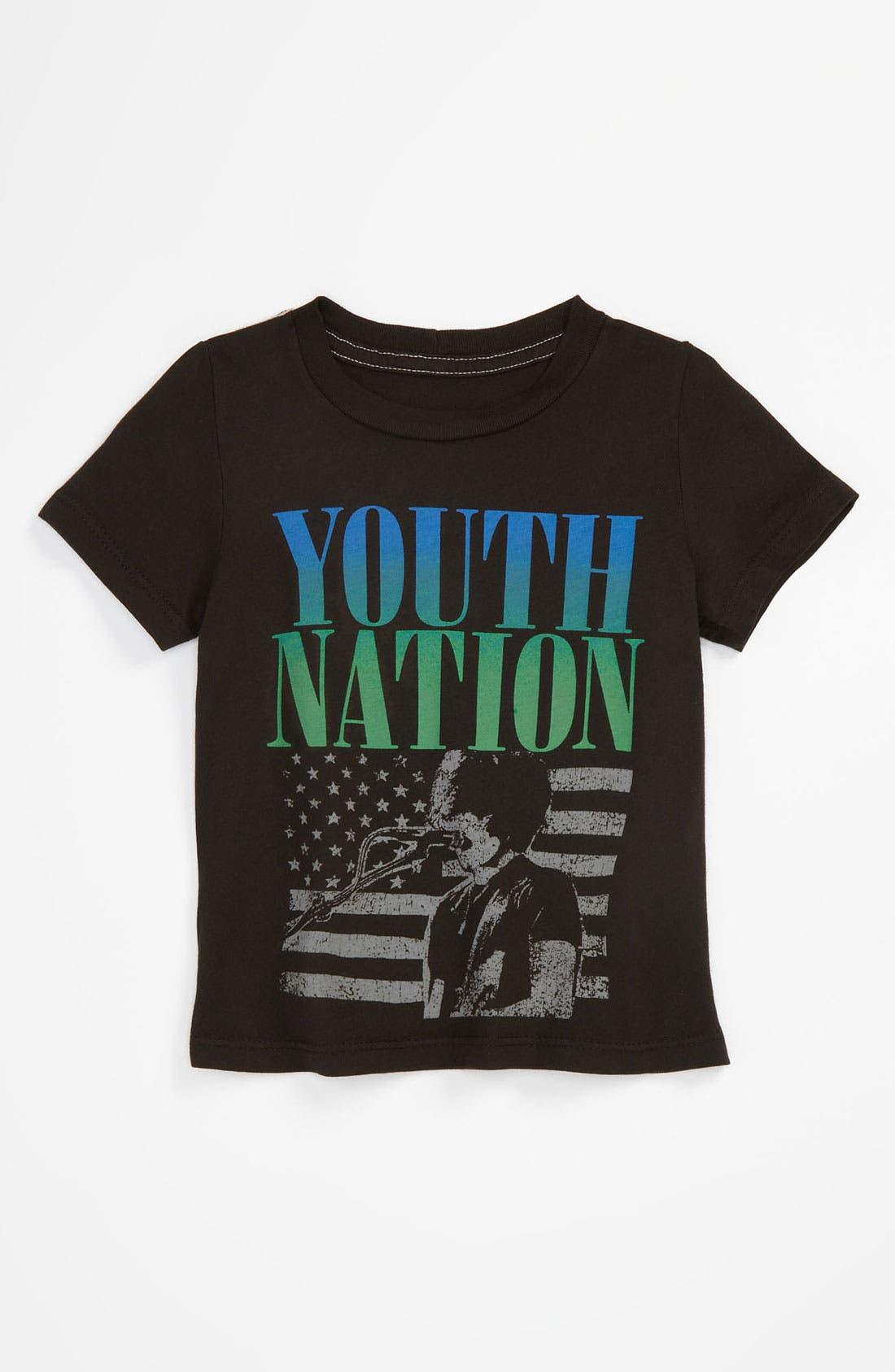 Alternate Image 1 Selected - Peek 'Youth Nation' T-Shirt (Infant)