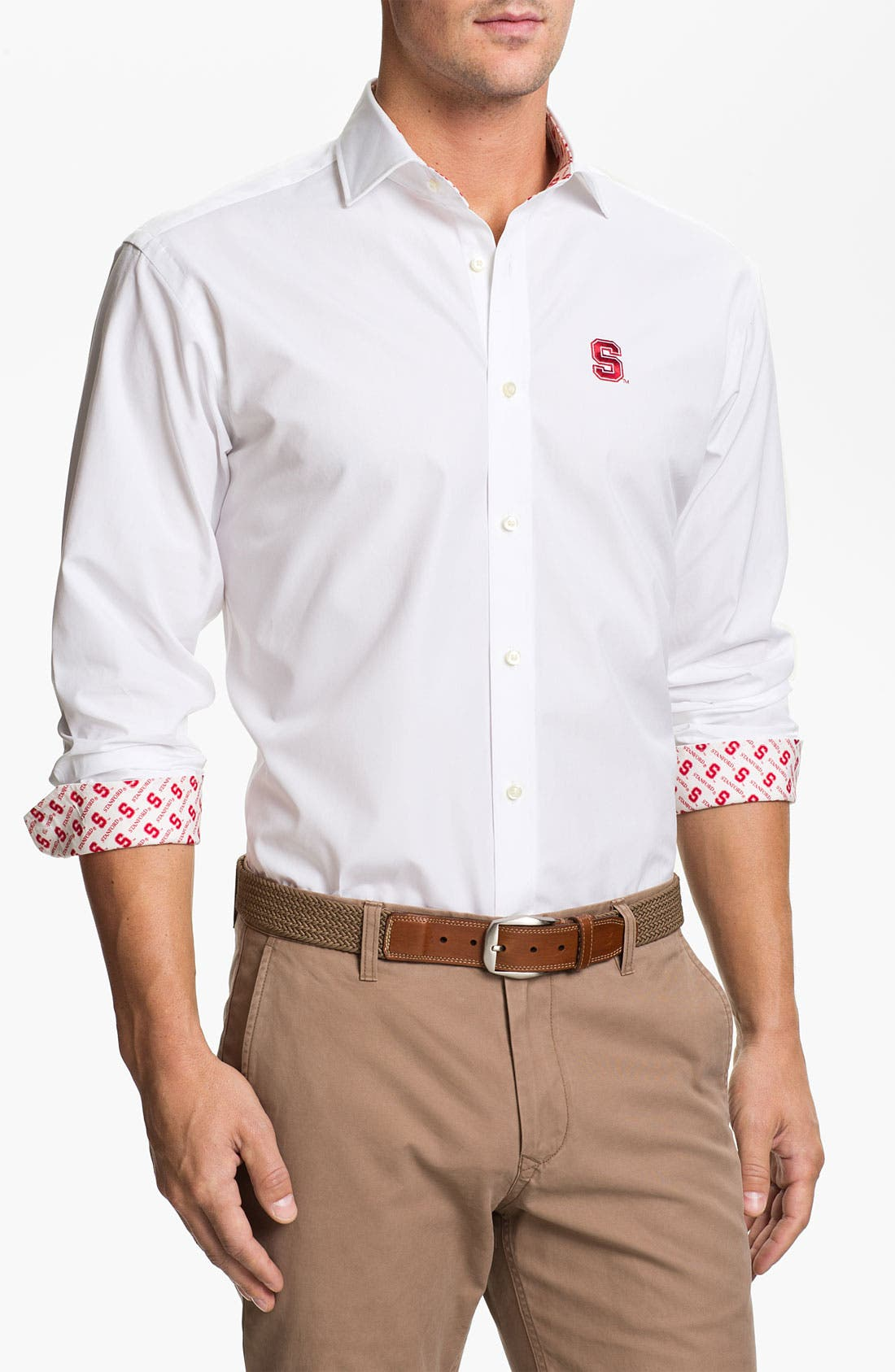 Main Image - Thomas Dean 'Stanford' Sport Shirt