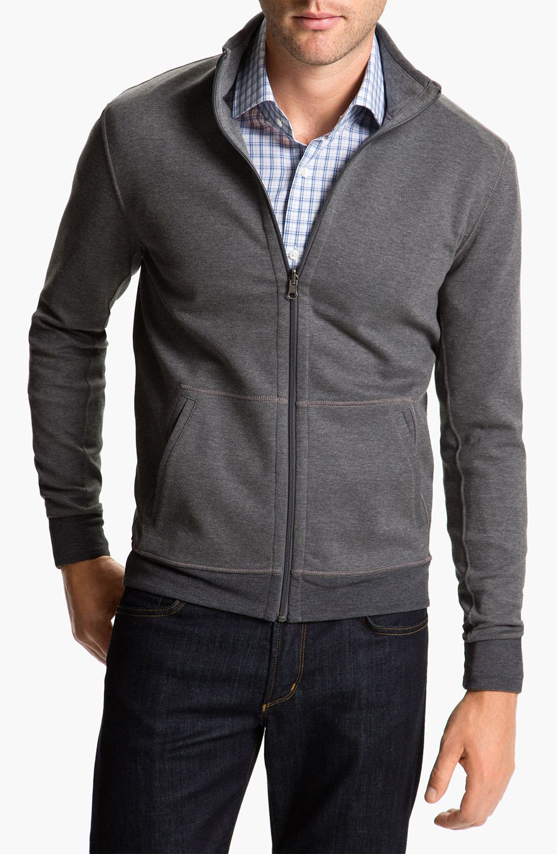 Alternate Image 1 Selected - BOSS Black 'Fossa 05' Sweatshirt