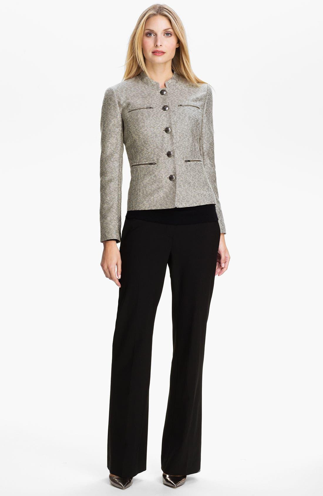 Alternate Image 4  - Classiques Entier® Metallic Weave Jacket