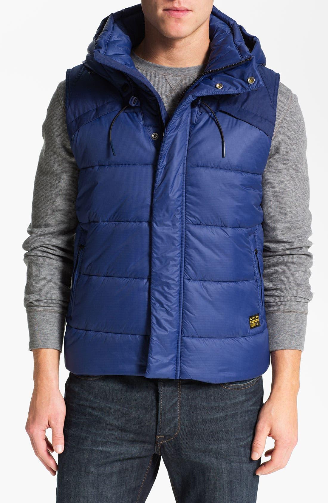 Alternate Image 1 Selected - G-Star Raw 'Whistler' Hooded Vest
