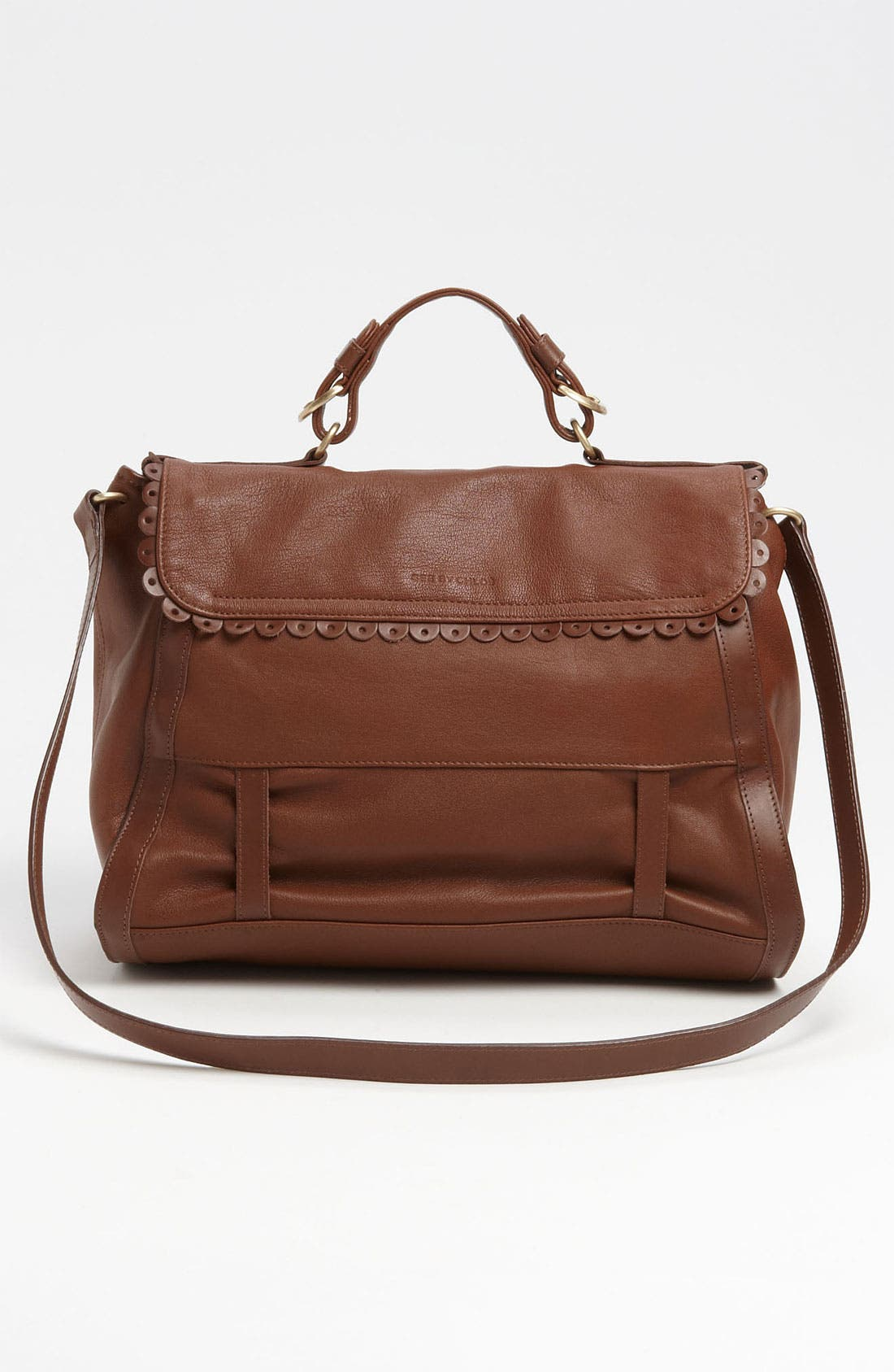 Alternate Image 4  - See By Chloé 'Poya Vintage - Large' Metallic Leather Satchel