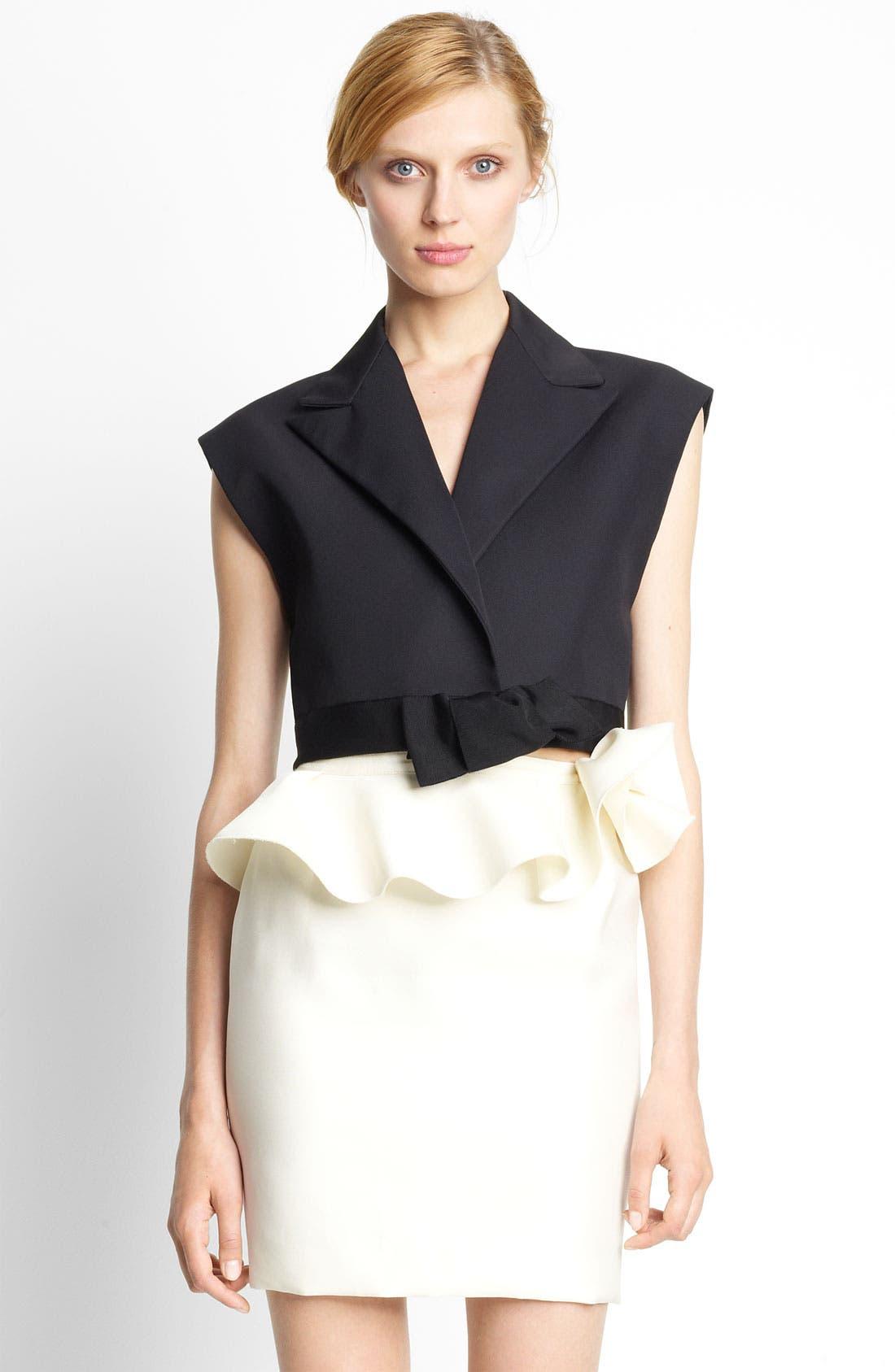 Alternate Image 1 Selected - Lanvin Smoking Vest