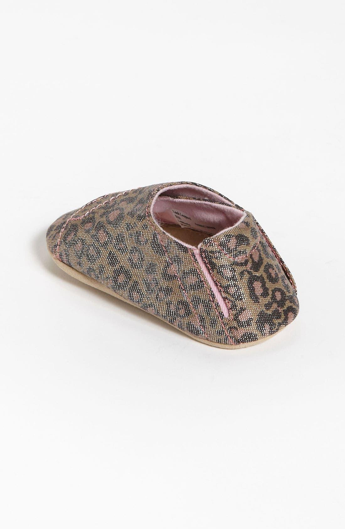 Alternate Image 2  - Stride Rite 'Lush Leopard' Crib Shoe (Baby)