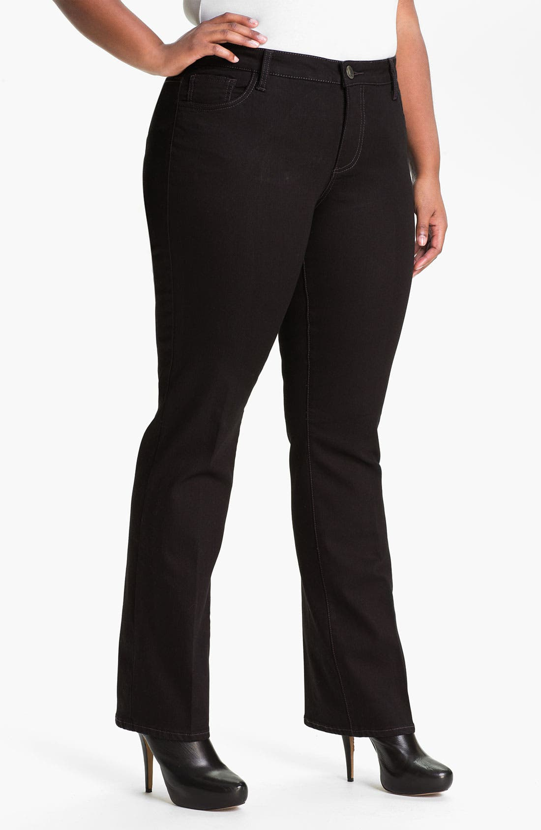 Alternate Image 1 Selected - KUT from the Kloth Bootcut Jeans (Plus Size)