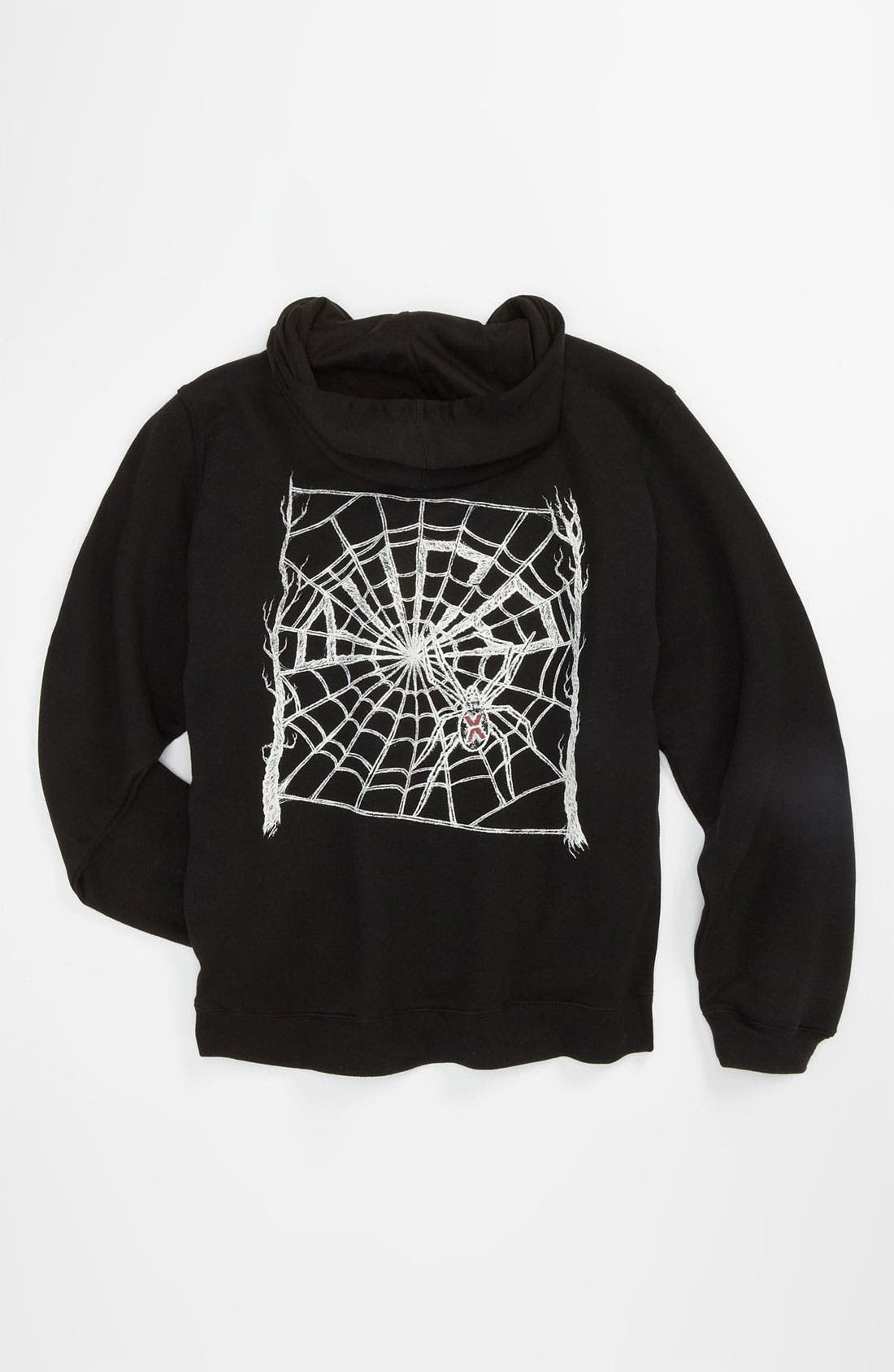 Alternate Image 2  - RVCA 'Web' Zip Hoodie (Big Boys)
