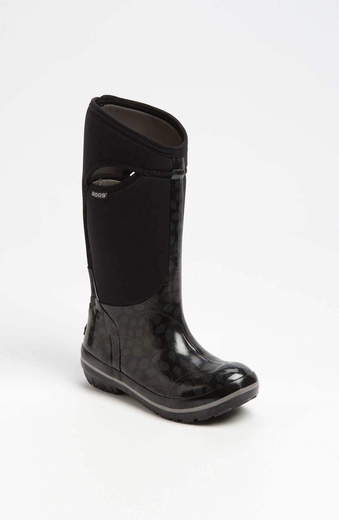 Alternate Image 1 Selected - Bogs 'Plimsoll Tall Leaf' Rain Boot (Women)