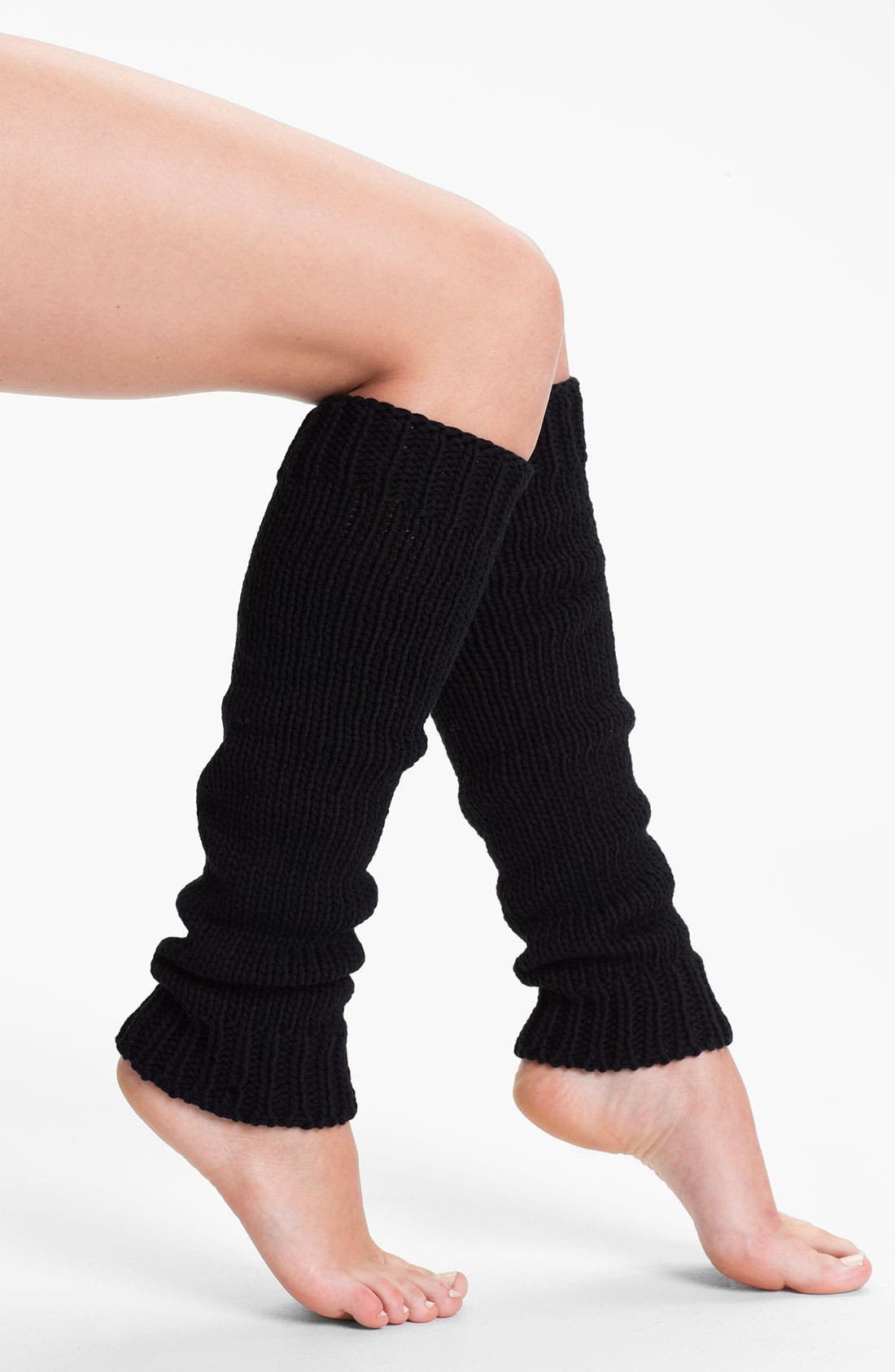 Main Image - DKNY Chunky Knit Leg Warmers