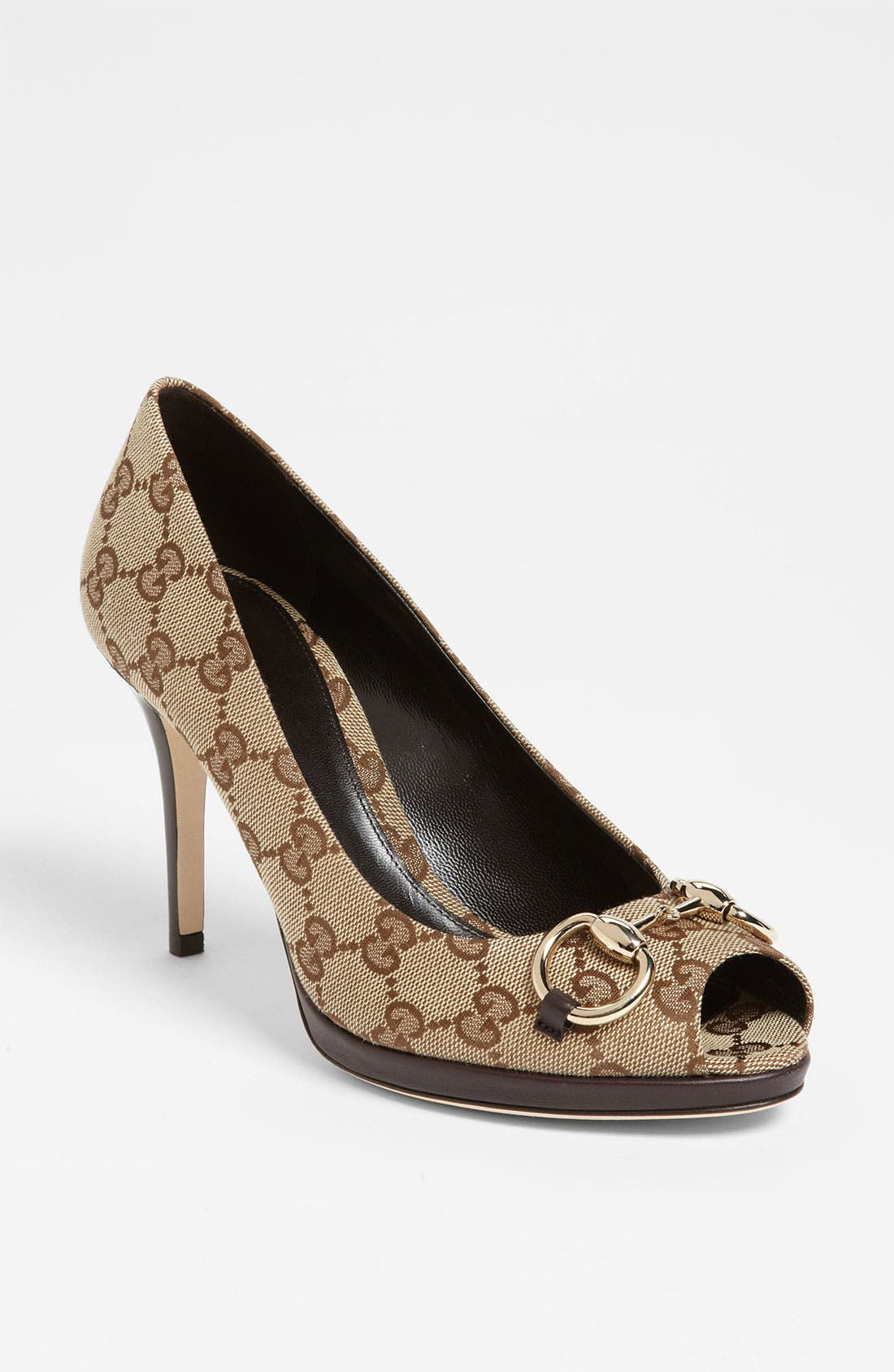 Alternate Image 1 Selected - Gucci 'New Hollywood' Platform Pump