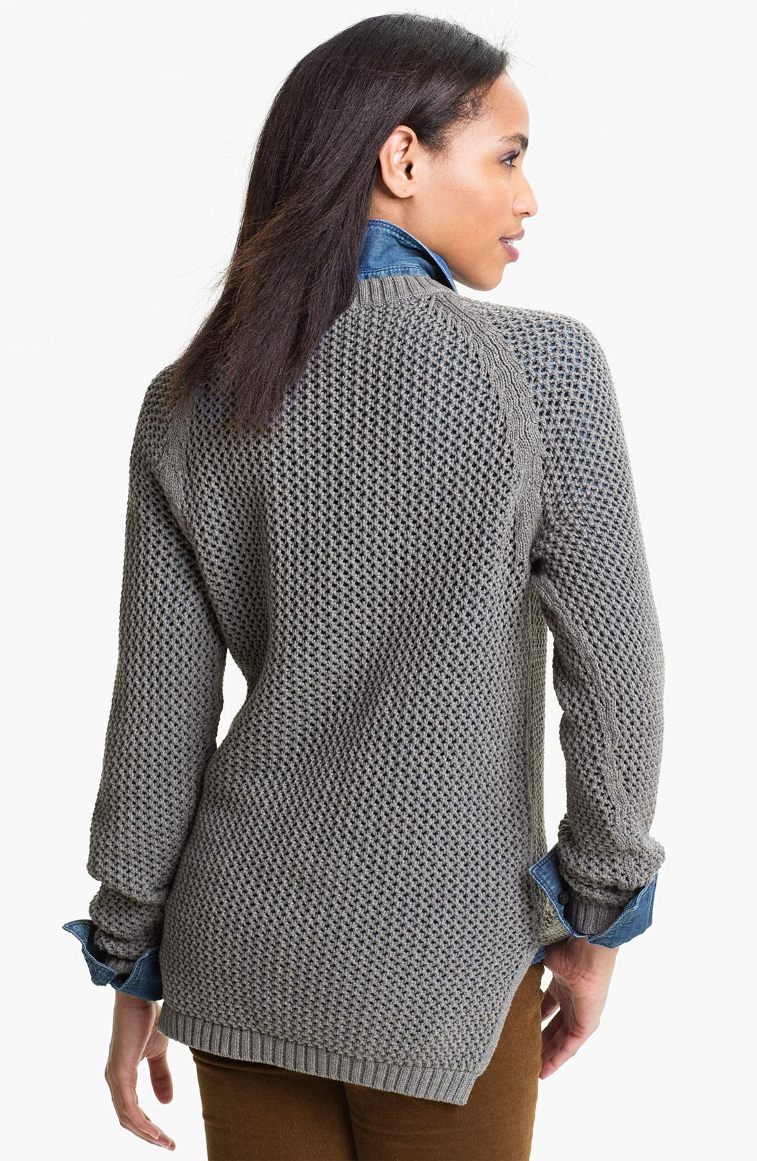 Alternate Image 2  - Only Mine Open Stitch Sweater