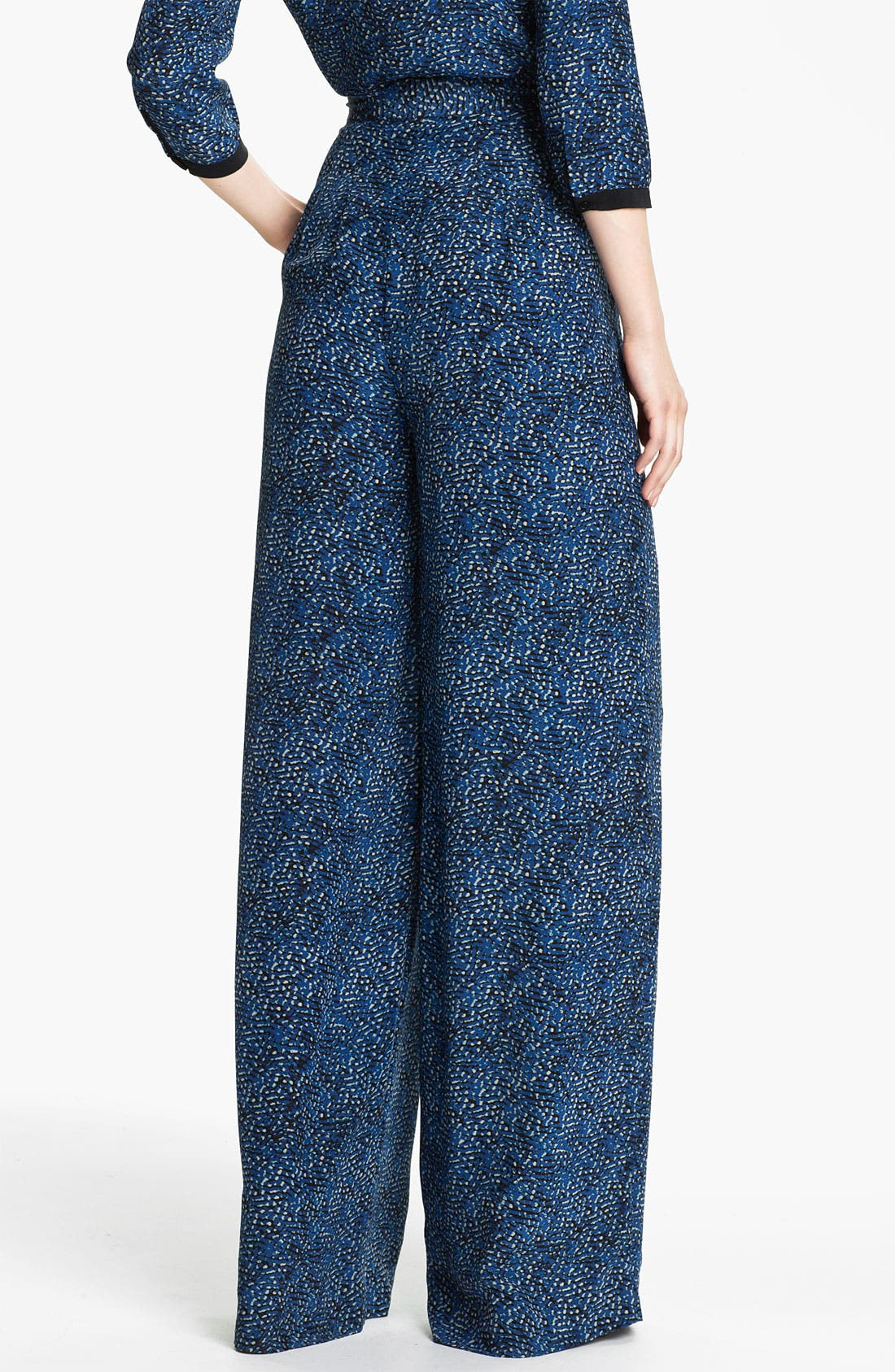 Alternate Image 2  - Rachel Zoe 'Tori' Abstract Dot Print Silk Pants