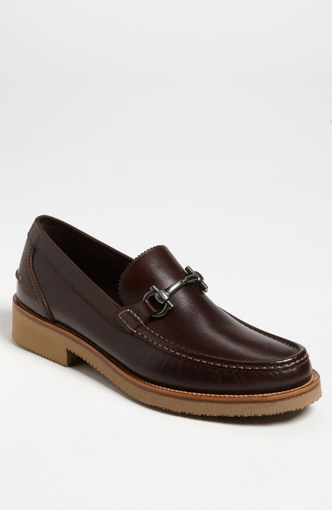 Alternate Image 1 Selected - Salvatore Ferragamo 'Timothy 2' Bit Loafer