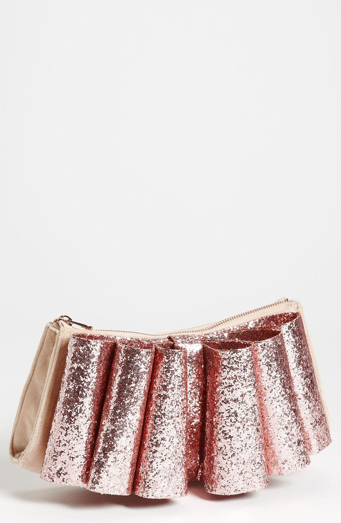 Main Image - Ted Baker London 'Langley Glitter Bow' Clutch