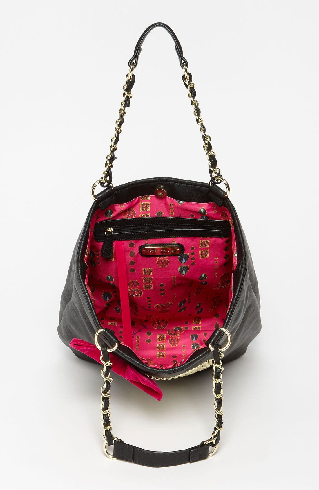 Alternate Image 3  - Betsey Johnson 'Skull Stud' Tote