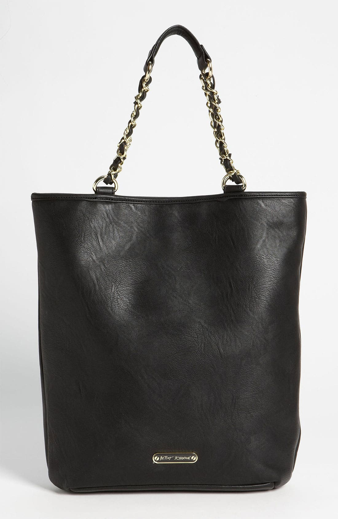 Alternate Image 4  - Betsey Johnson 'Skull Stud' Tote