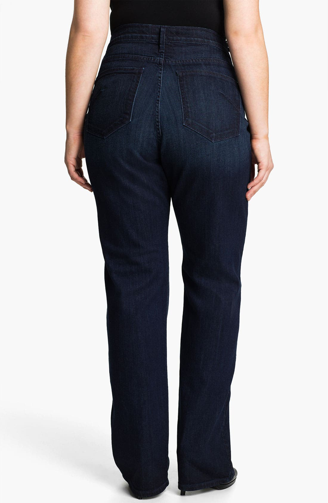 Alternate Image 2  - James Jeans High Rise Straight Leg Jeans (Plus)