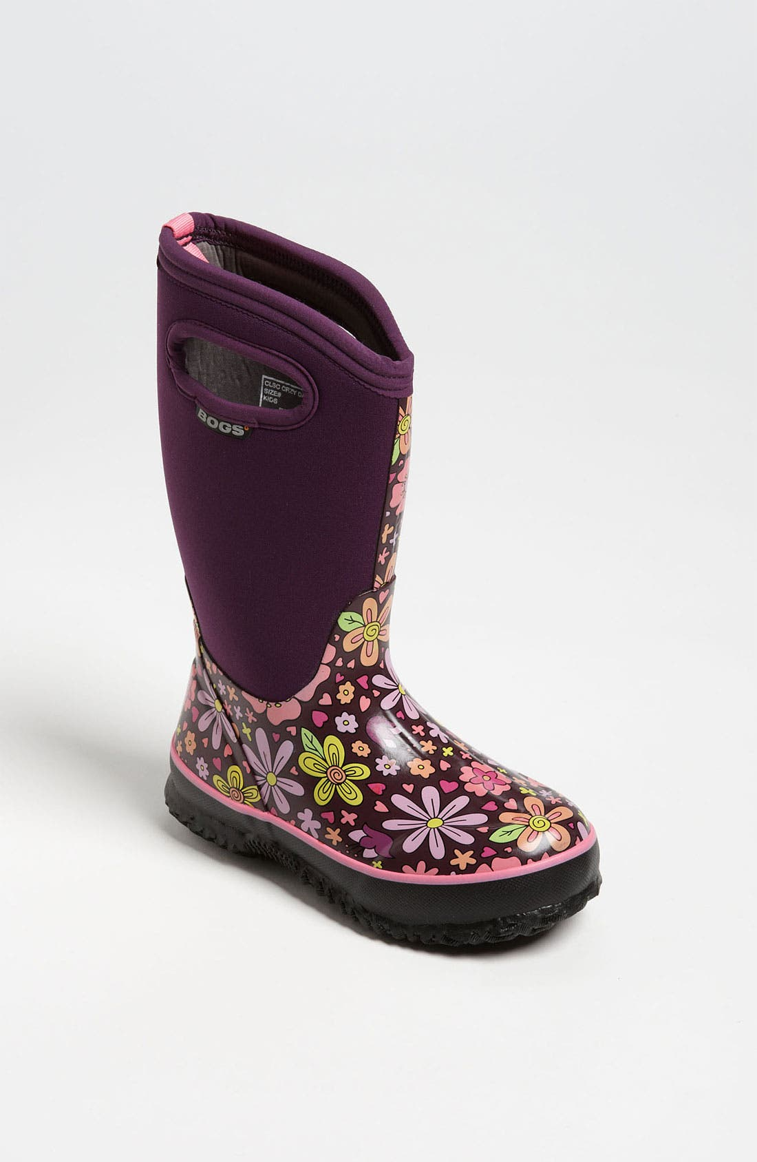 Main Image - Bogs 'Classic High Crazy Daisy' Snow Boot (Toddler, Little Kid & Big Kid)