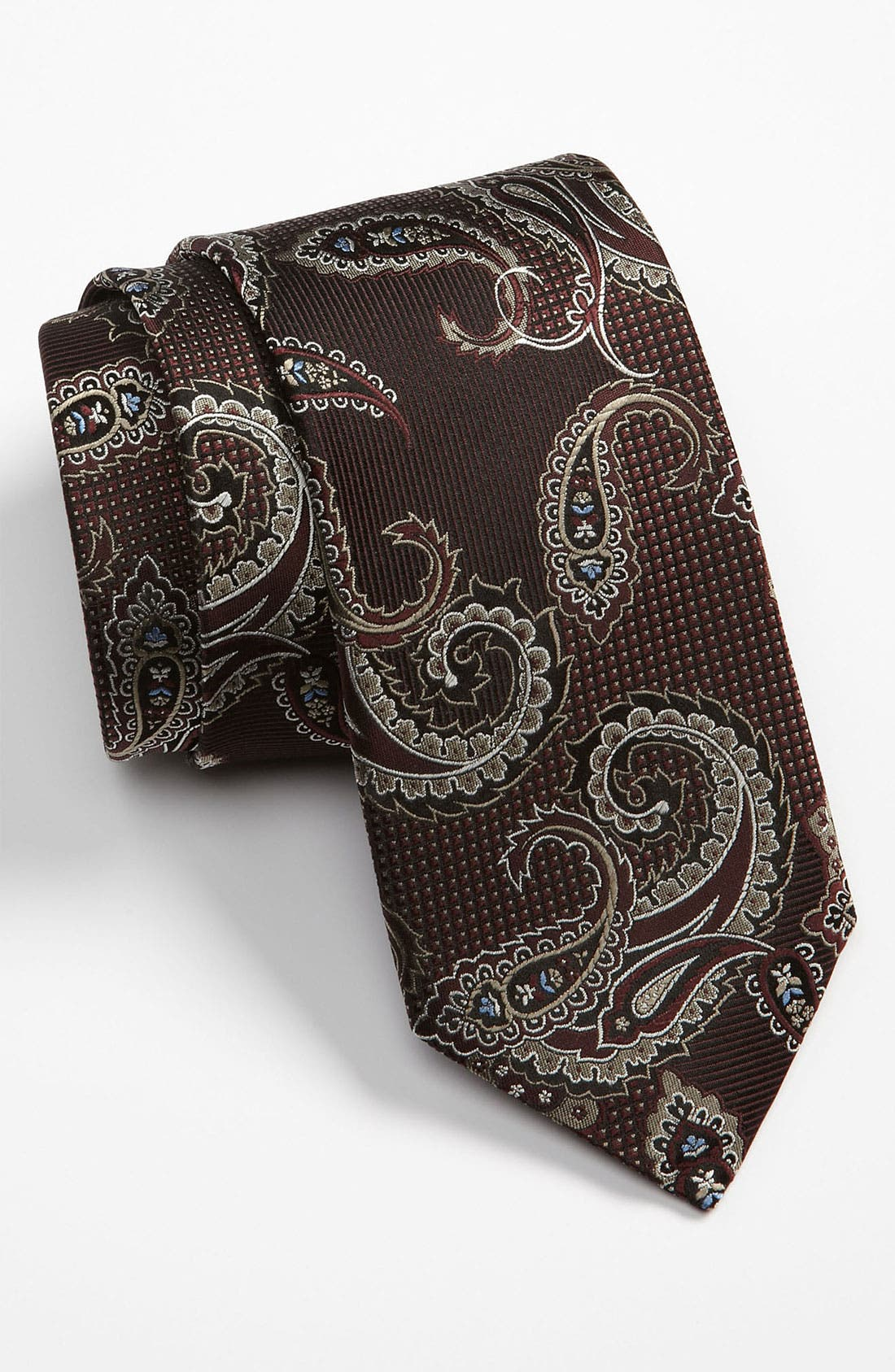 Main Image - J.Z. Richards Woven Silk Tie