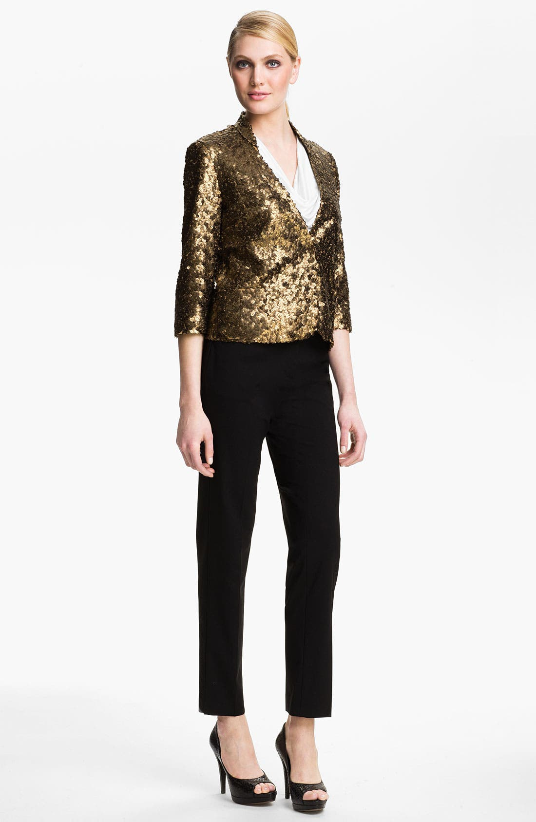 Alternate Image 4  - Alberto Makali Sequin Jacket